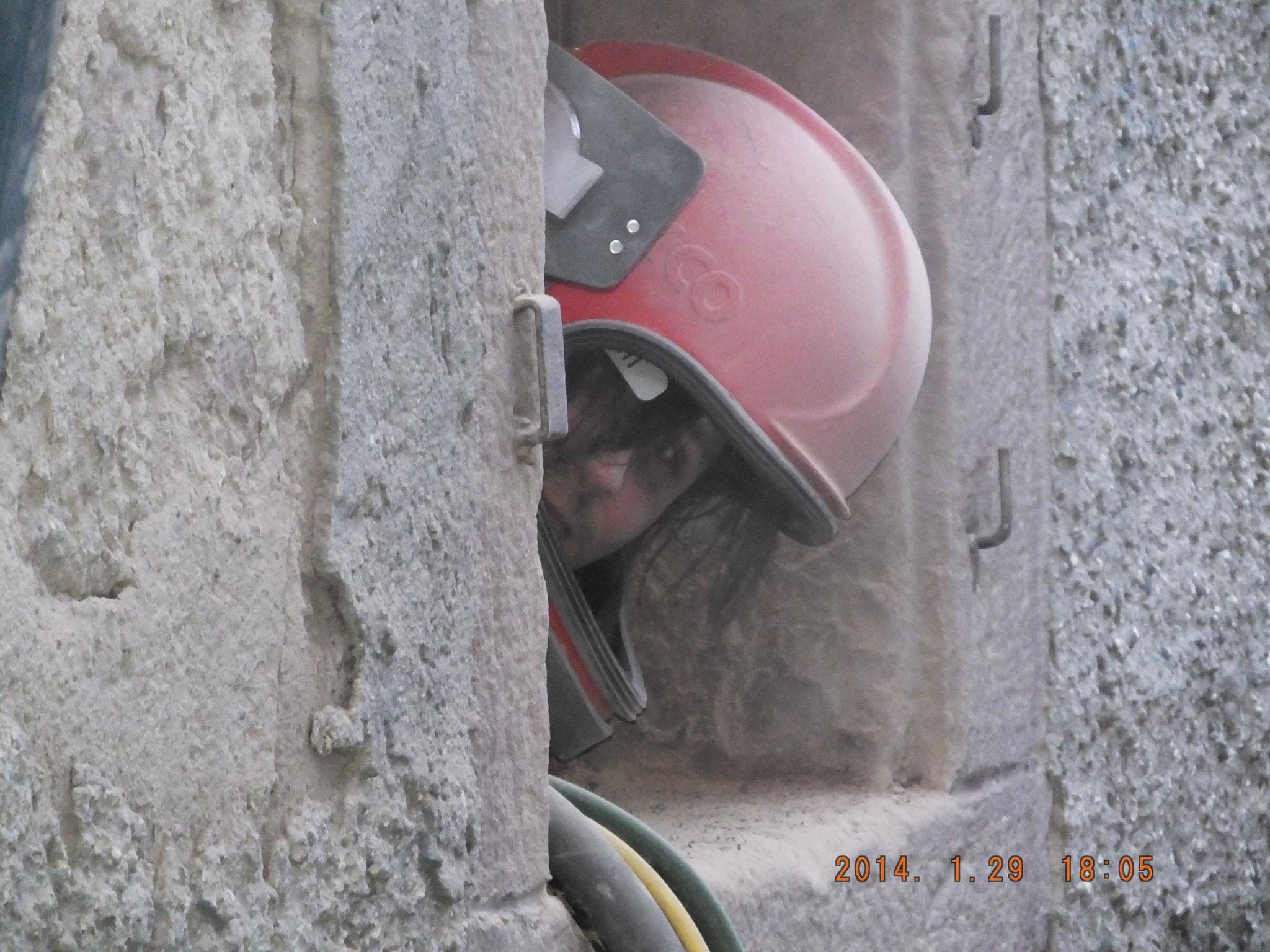 Bauwerksabdichtung  Reinigung Sandstrahlen / Sandstrahlverfahren