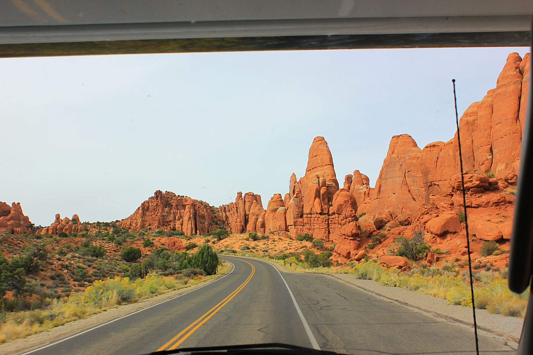 Unterwegs im Arches Nationalpark