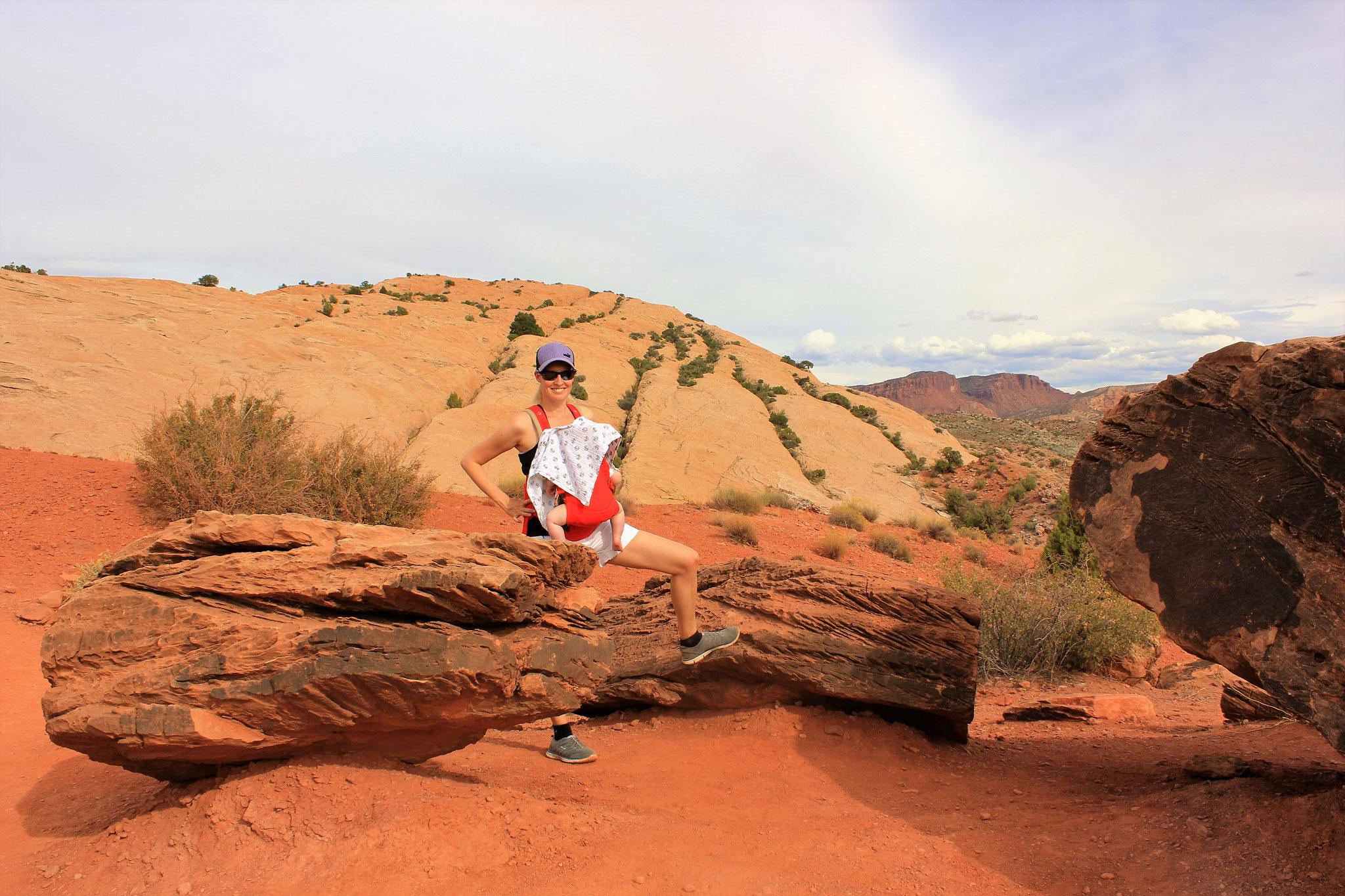 Kleine Wanderung zum Delicate Arch Viewpoint