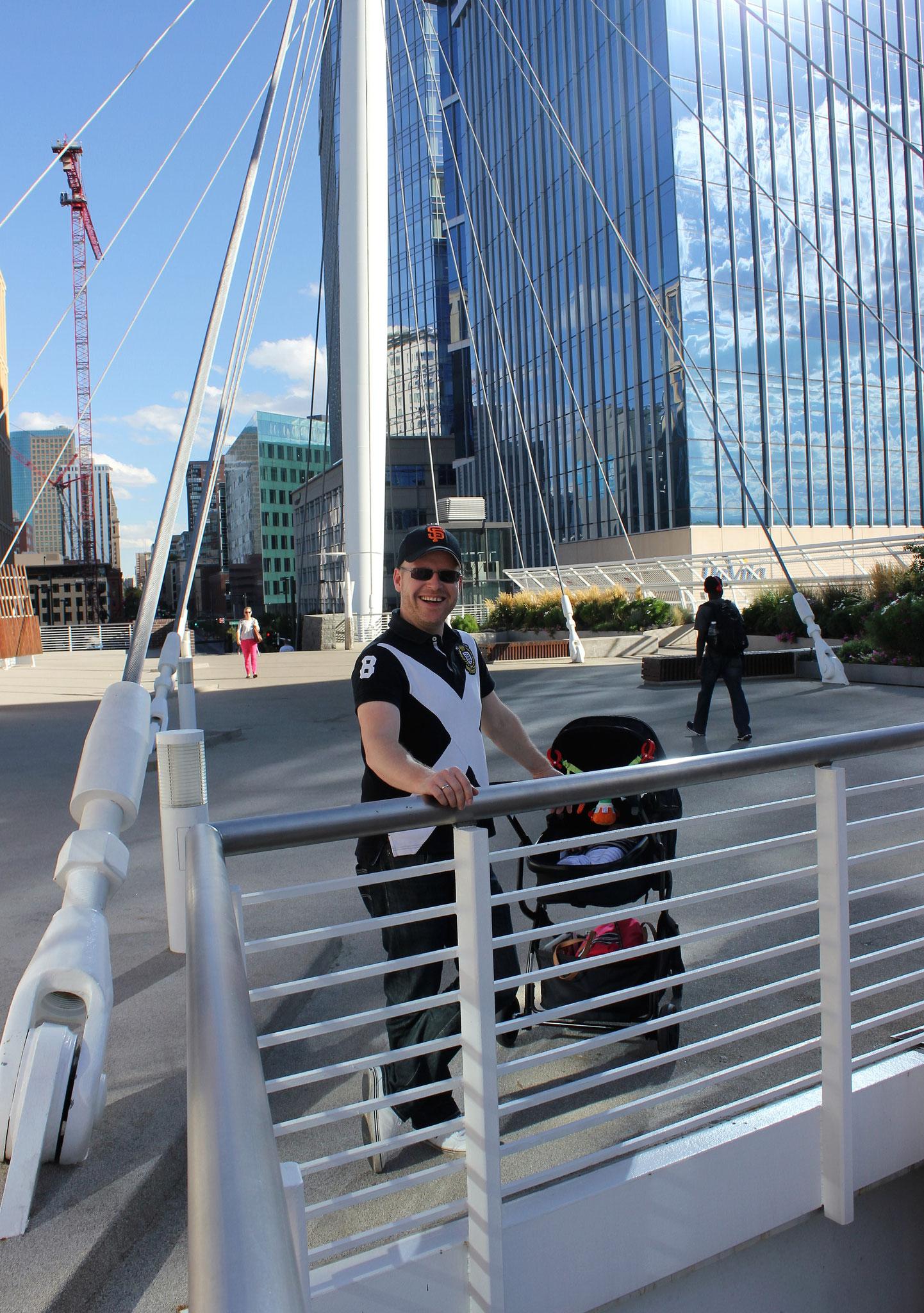 Sehenswürdigkeit in Denver: Die Millennium Bridge