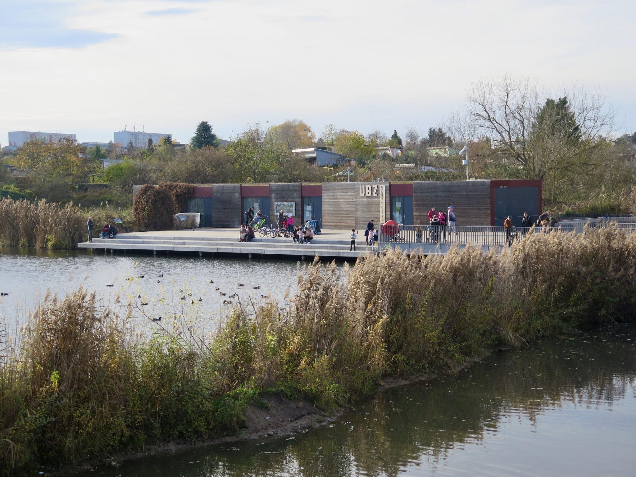 Umweltbildungszentrum (UBZ) am Wuhleteich im Kienbergpark