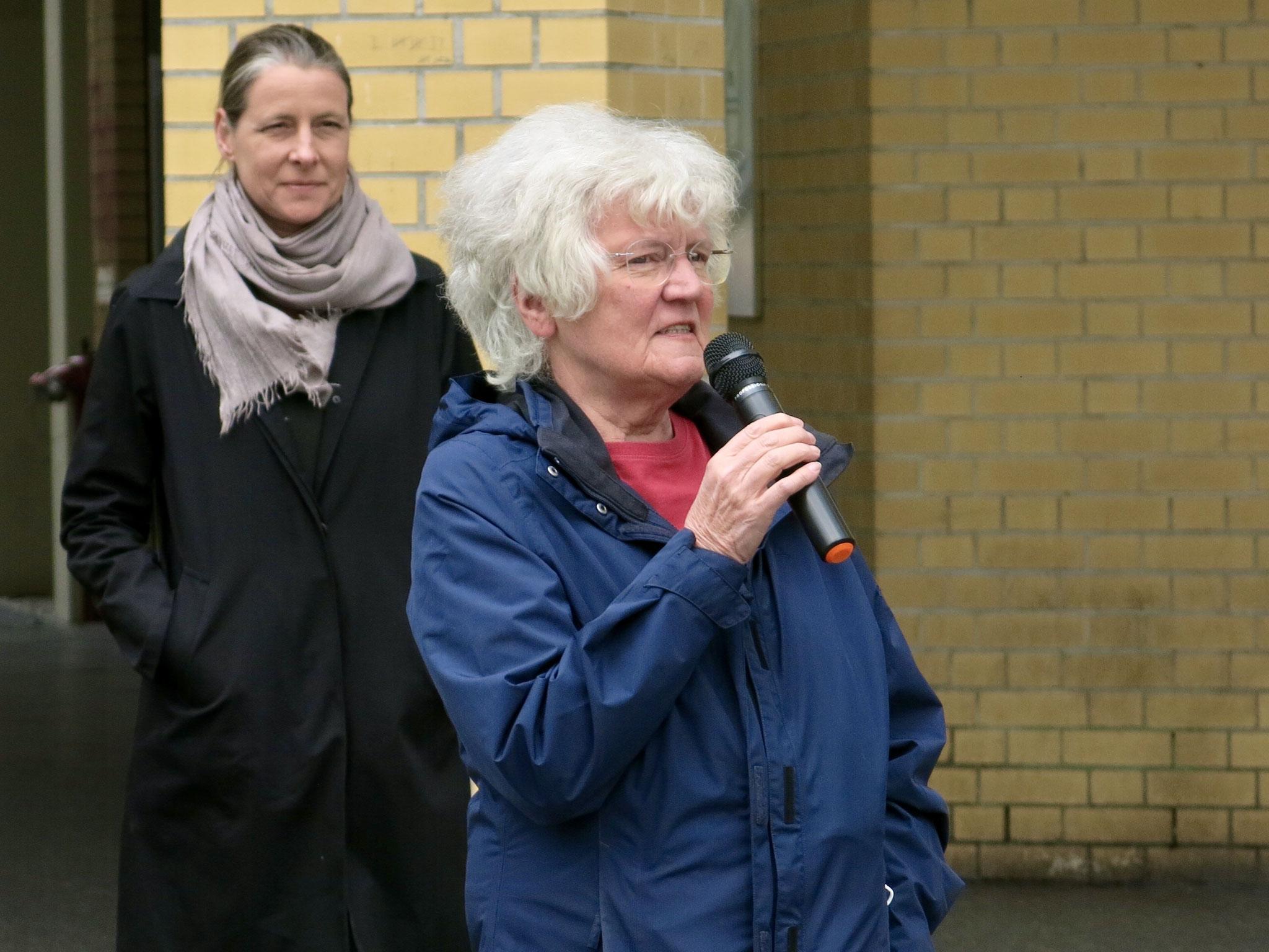 Henny Engels, Sprecherin des Frauenbeirats und Mitglied im Bundesvorstand des deutschen Lesben- und Schwulenverbands
