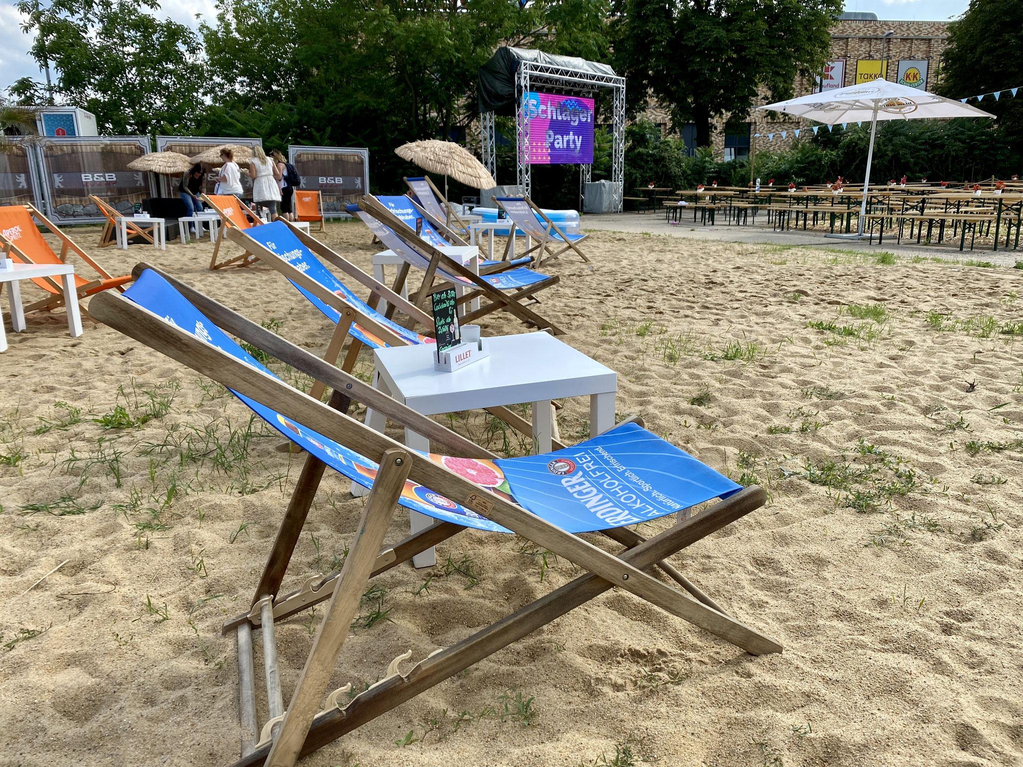 Sa+So, 17.+18.07. | 16.00-22.00 Uhr: Beach Bar Biesdorf – Musik, Strand, Snacks und kühle Getränke