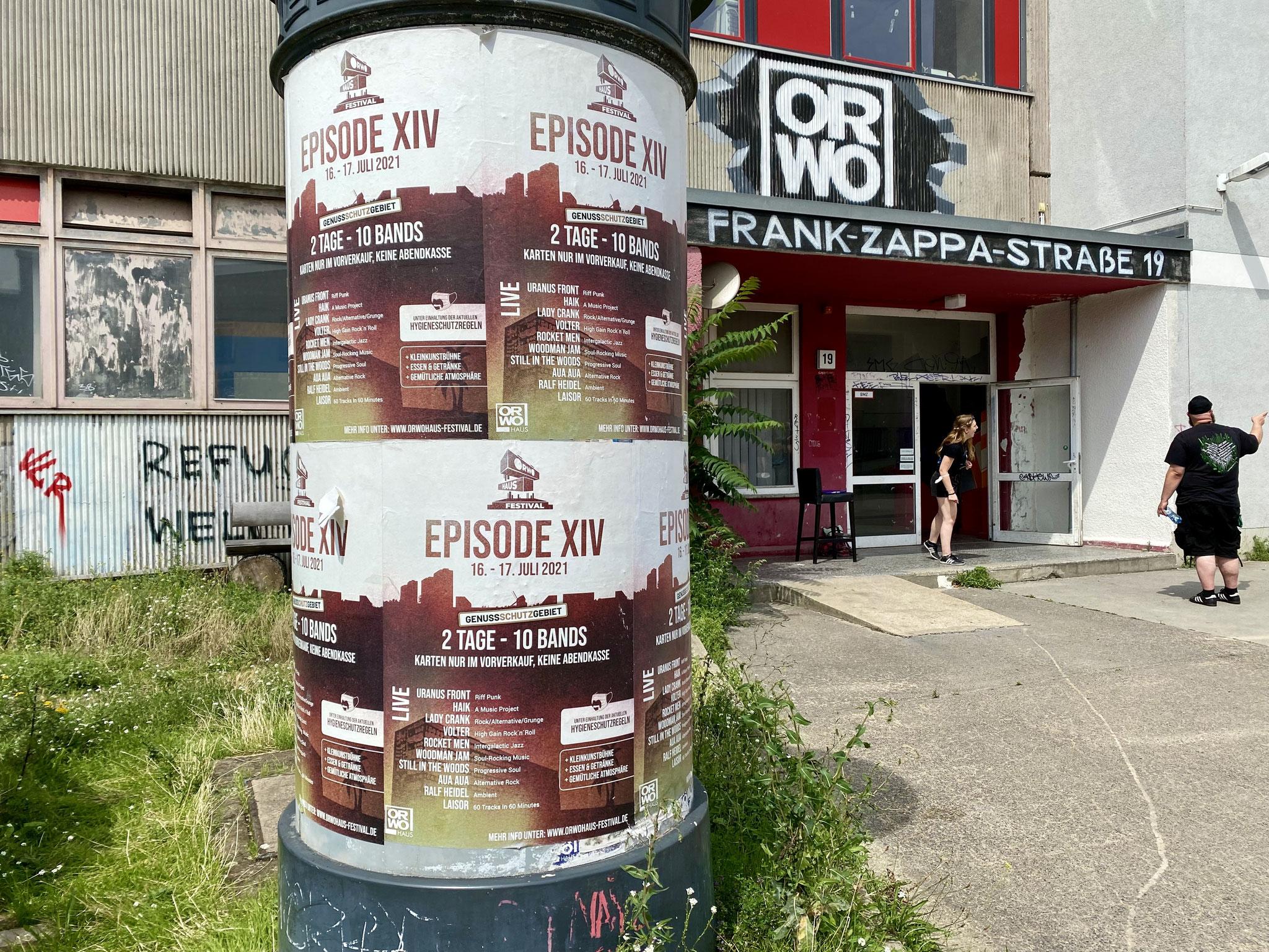 Sa, 17.07. | 15.00-00.00 Uhr: Tag 2 des ORWOhaus Festivals