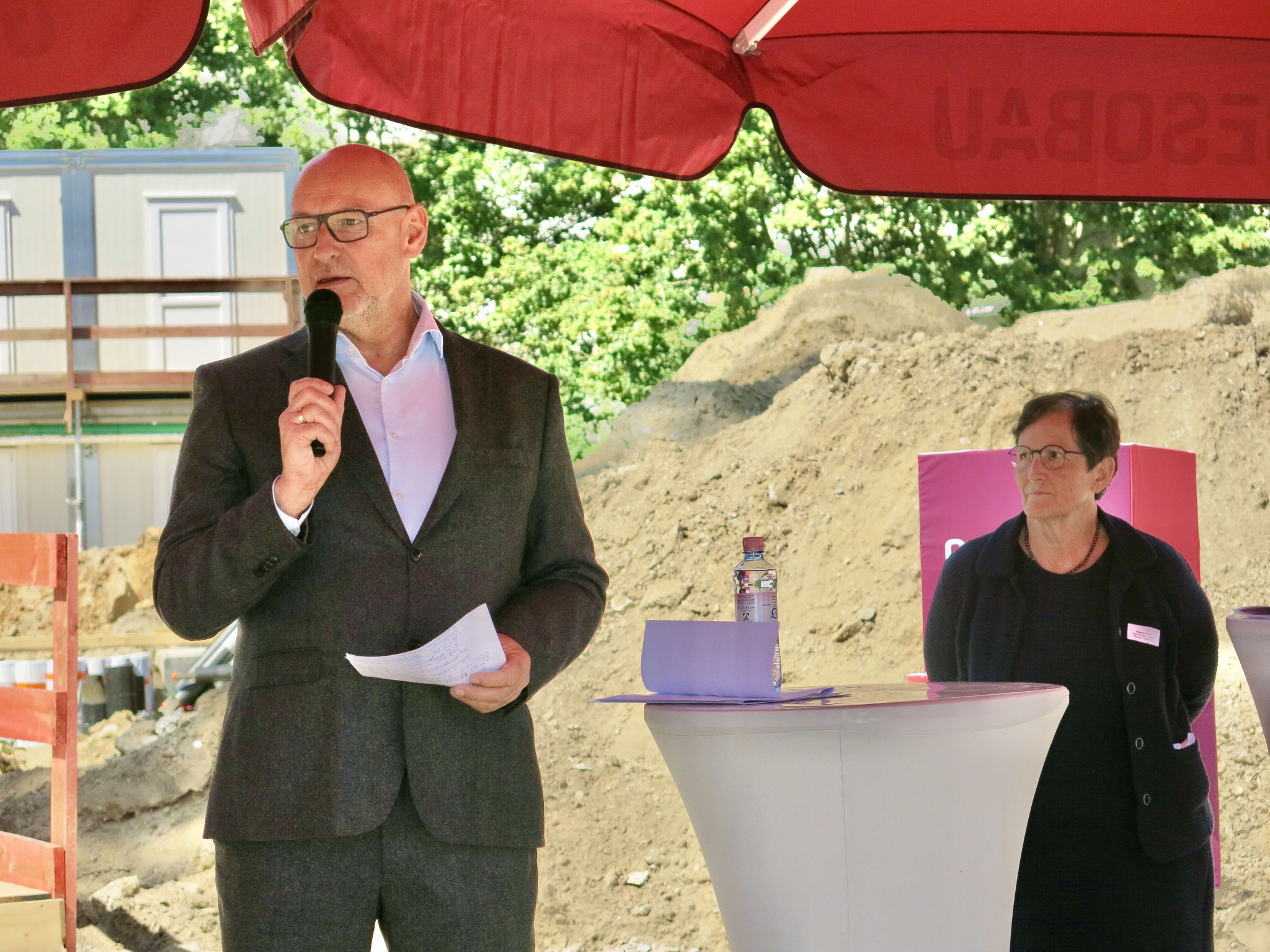 Jörg Franzen, Vorstandsvorsitzender der Gesobau AG