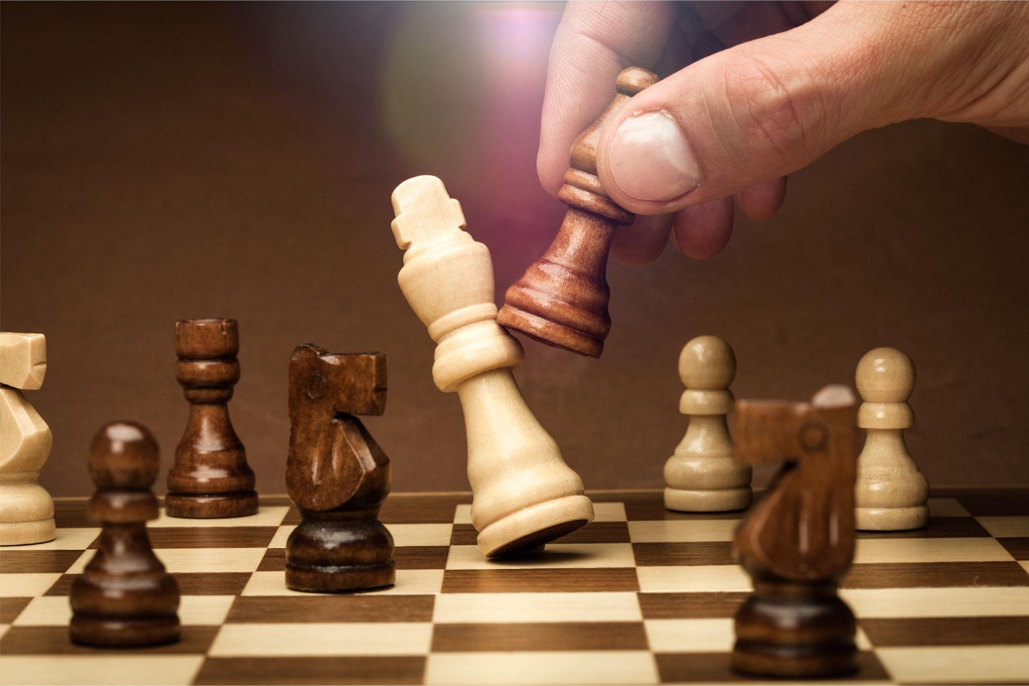 Tipp 2: Sa, 16.11., 12-14 Uhr: Schach für Einsteiger und Könner. Mark-Twain-Bibliothek im Freizeitforum Marzahn. © BillionPhotos.com, Adobe Stock