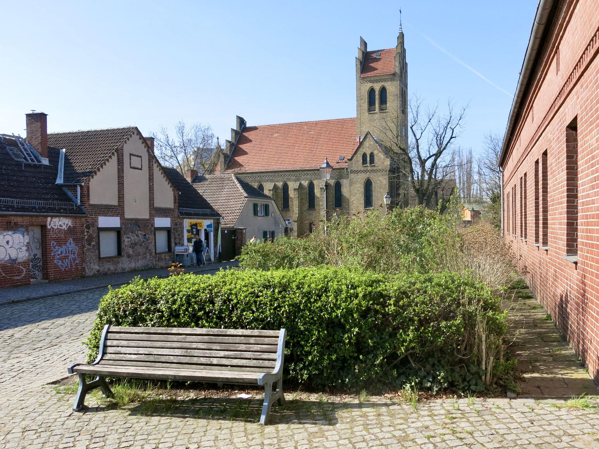 Tipp 10: Alt-Marzahn, neugotische Backsteinkirche
