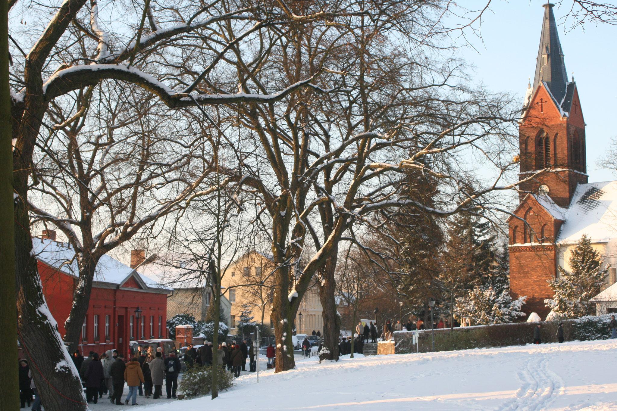Sa, 7. Dezember, 13 bis 19 Uhr: Alt-Kaulsdorfer Weihnachtsmarkt