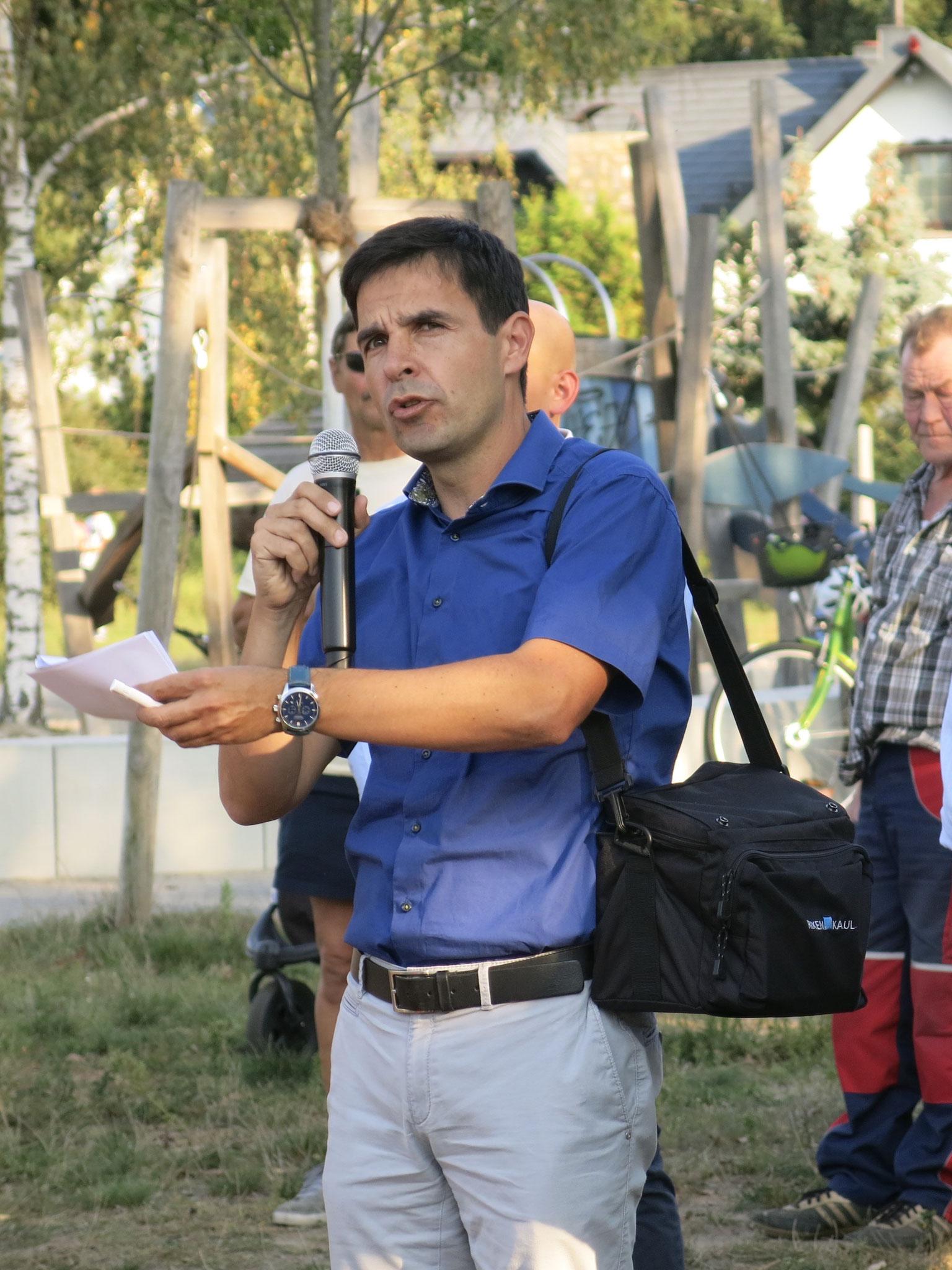 Andreas Lemmer, Leiter des Fachbereichs Grün, äußerte sich zu den geplanten Baumfällungen.