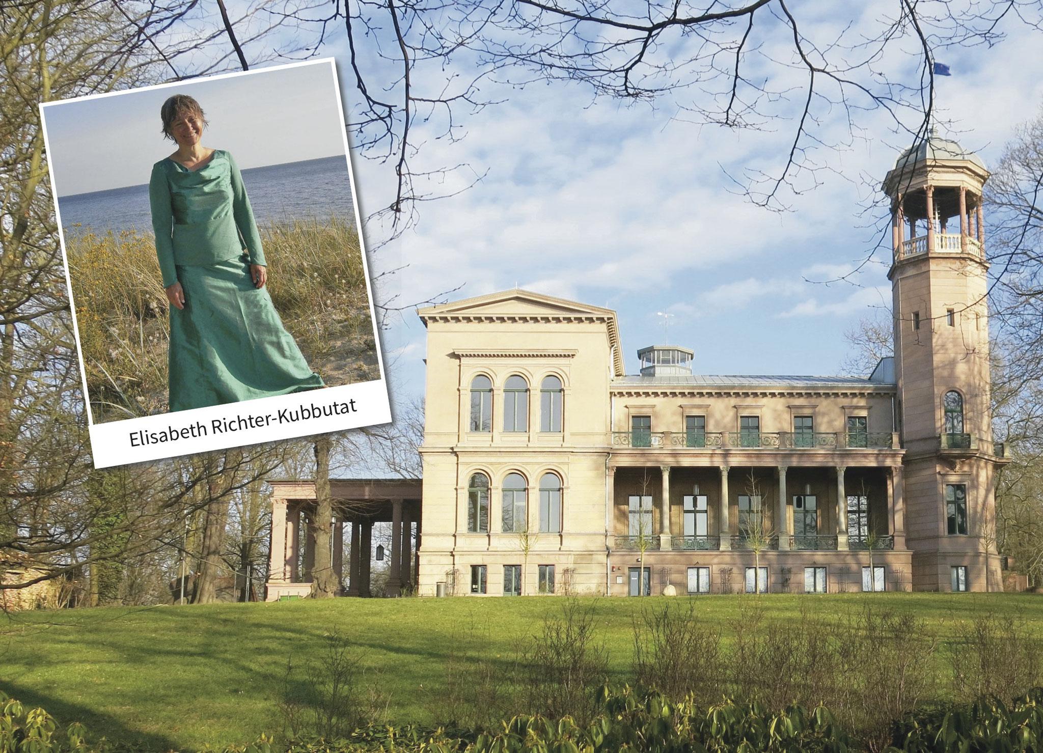 """Tipp 12: So, 20.10., 14-16 Uhr: Literaturclub im Schloss Biesdorf. Elisabeth Richter-Kubbutat liest aus Christa Wolfs Erzählung """"Selbstversuch""""."""