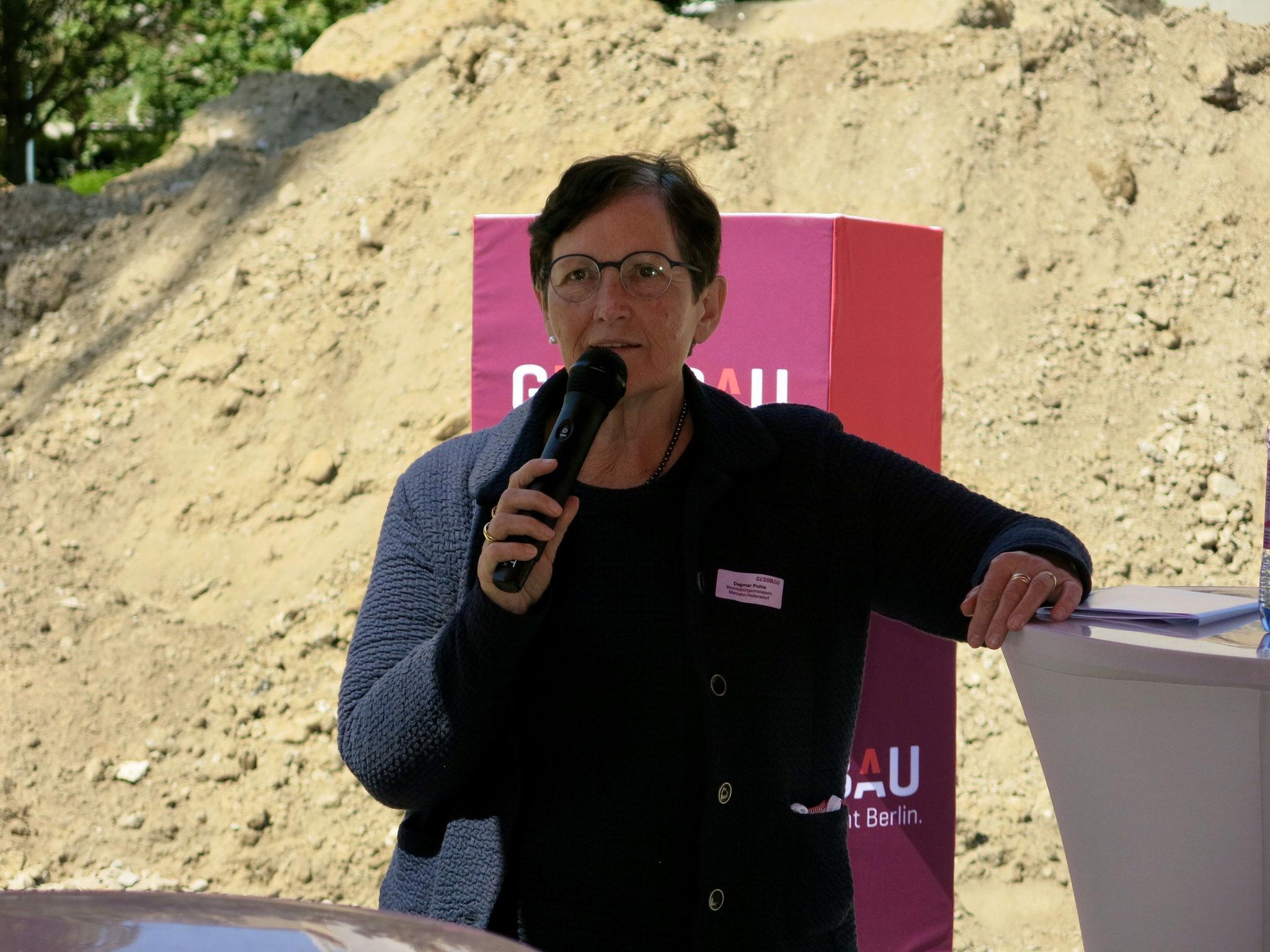 Dagmar Pohle, Bezirksbürgermeisterin von Marzahn-Hellersdorf