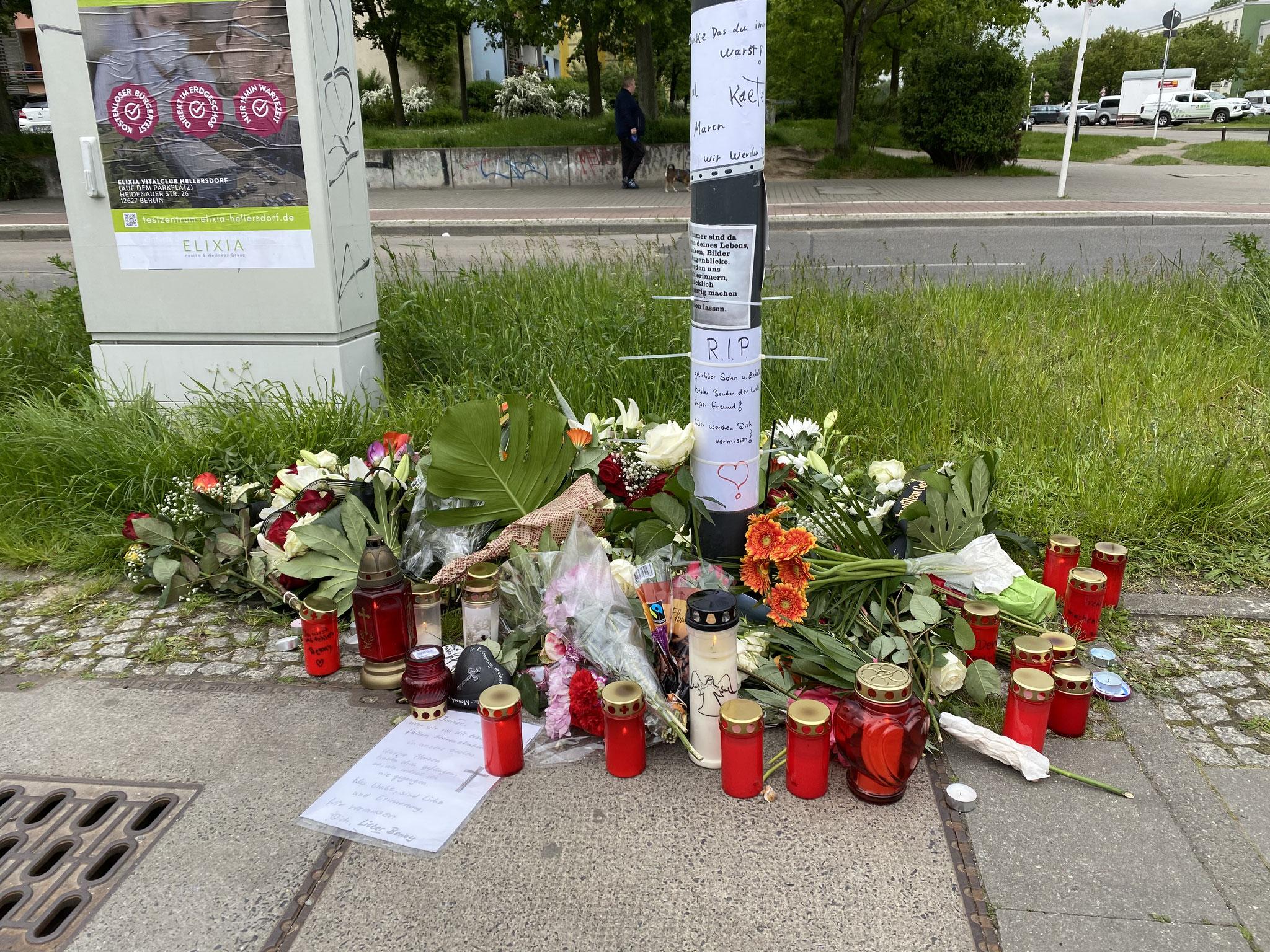 So, 13.06., 16.30 Uhr: Mahnwache für getöteten Fußgänger an der Straßenbahnhaltestelle Riesaer Straße, Ecke Nossener Straße