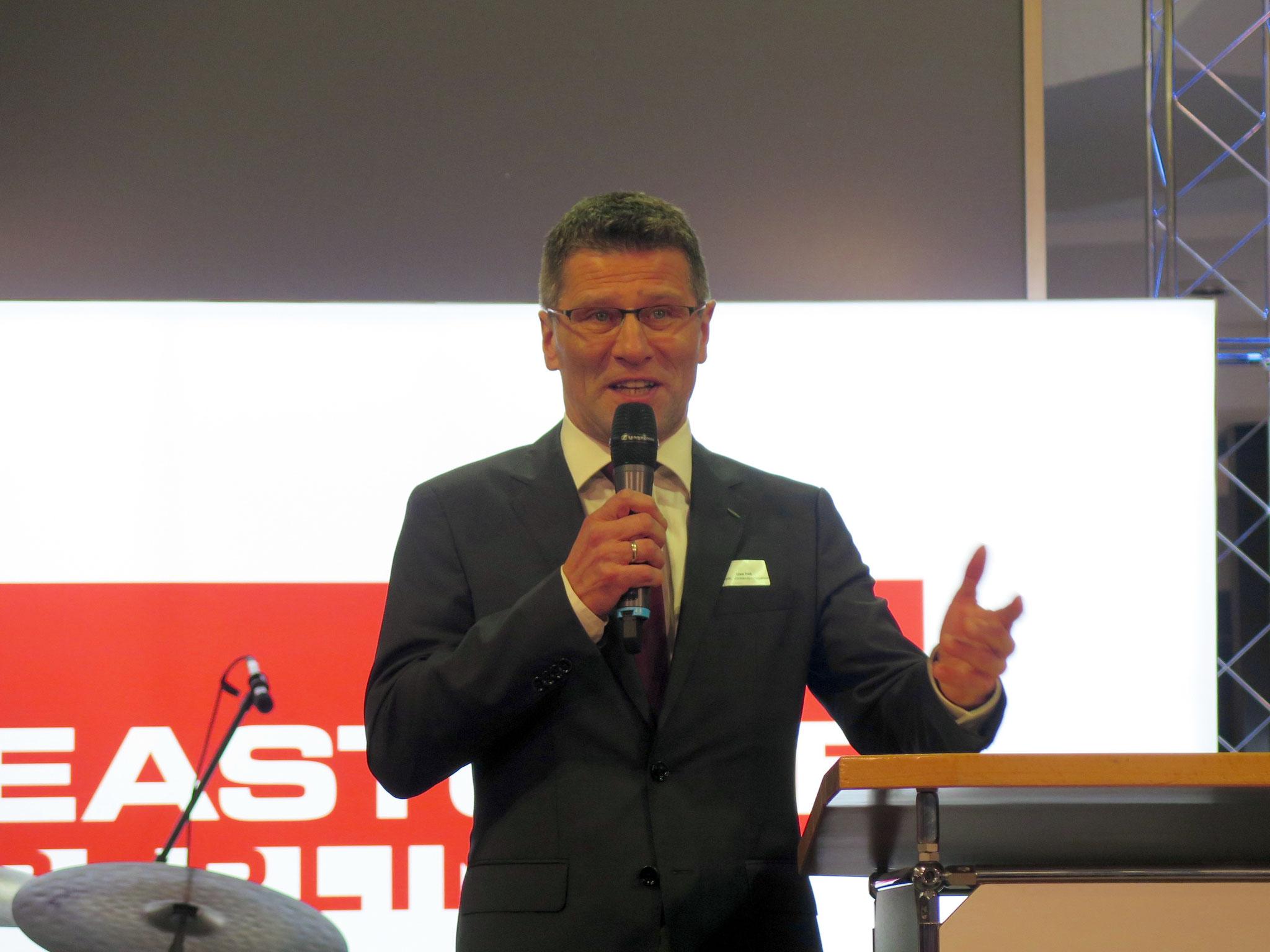 Der Vorstandsvorsitzende des MHWK, Uwe Heß