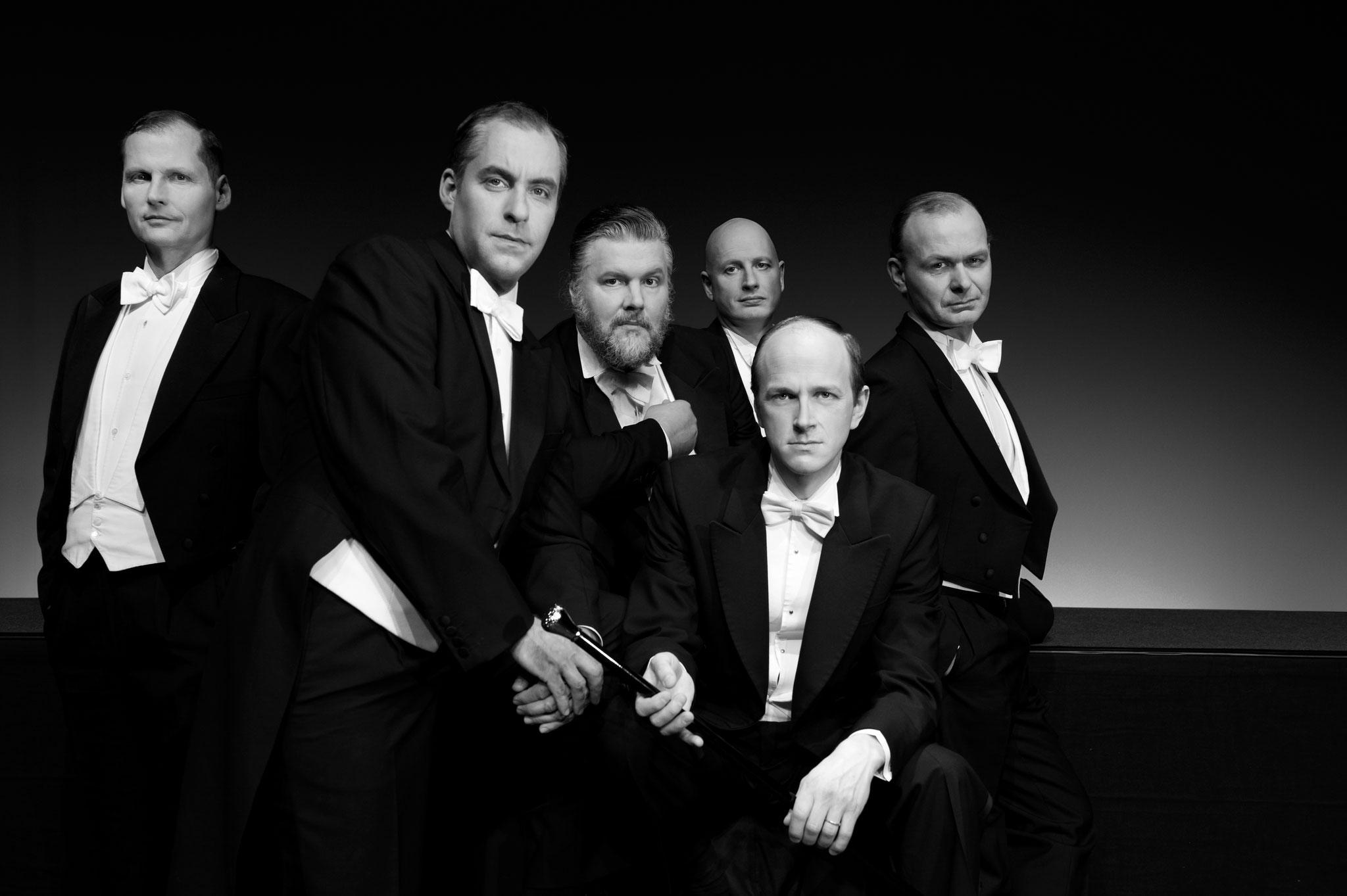 Tipp 7: Sa, 16.11., 20 Uhr: Die Comedian Harmonists Today geben ein Konzert im Freizeitforum Marzahn © Anna Yve