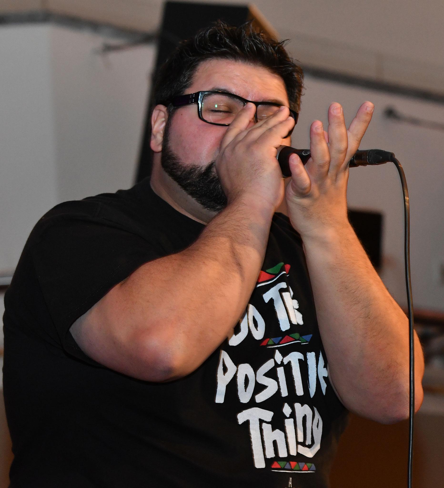 ... Beatboxer Ferreira Sezinando. Classic meets Beatbox heißt es ab 18.35 Uhr. © pressefoto-uhlemann.de
