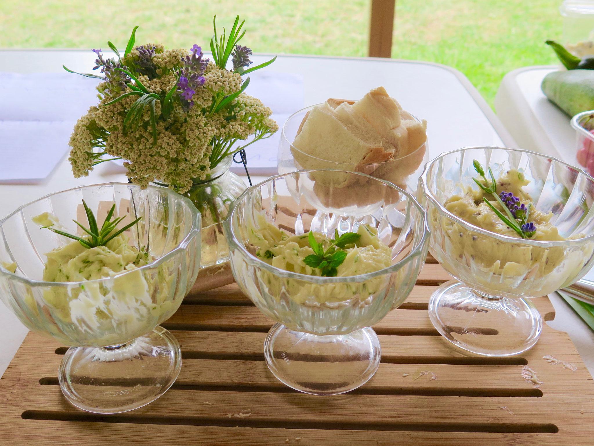 Lavendel-Butter von Franziska Erdmann