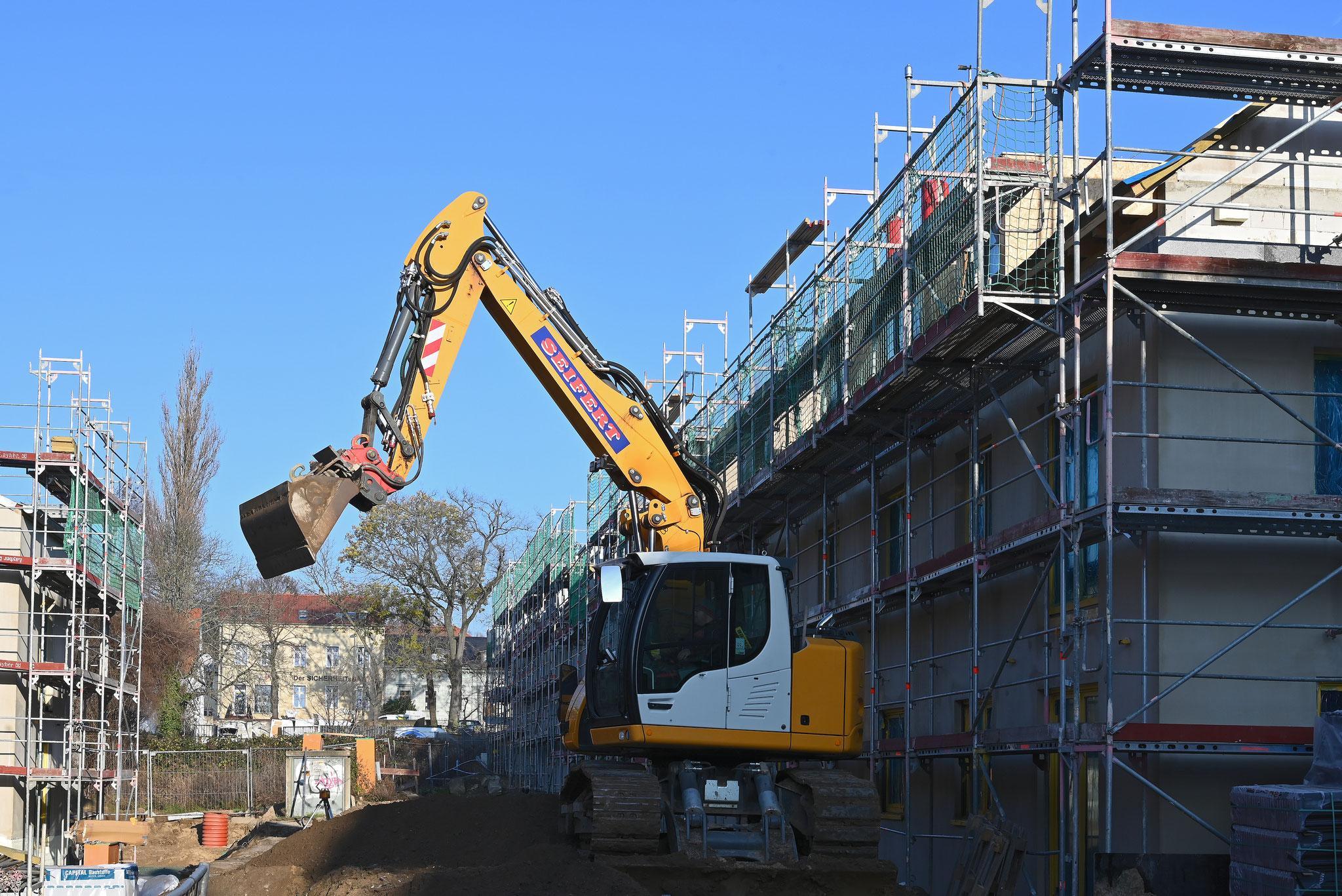 Bis Ende 2020 sollen die ersten 380 Wohnungen bezugsfertig sein. © STADT UND LAND