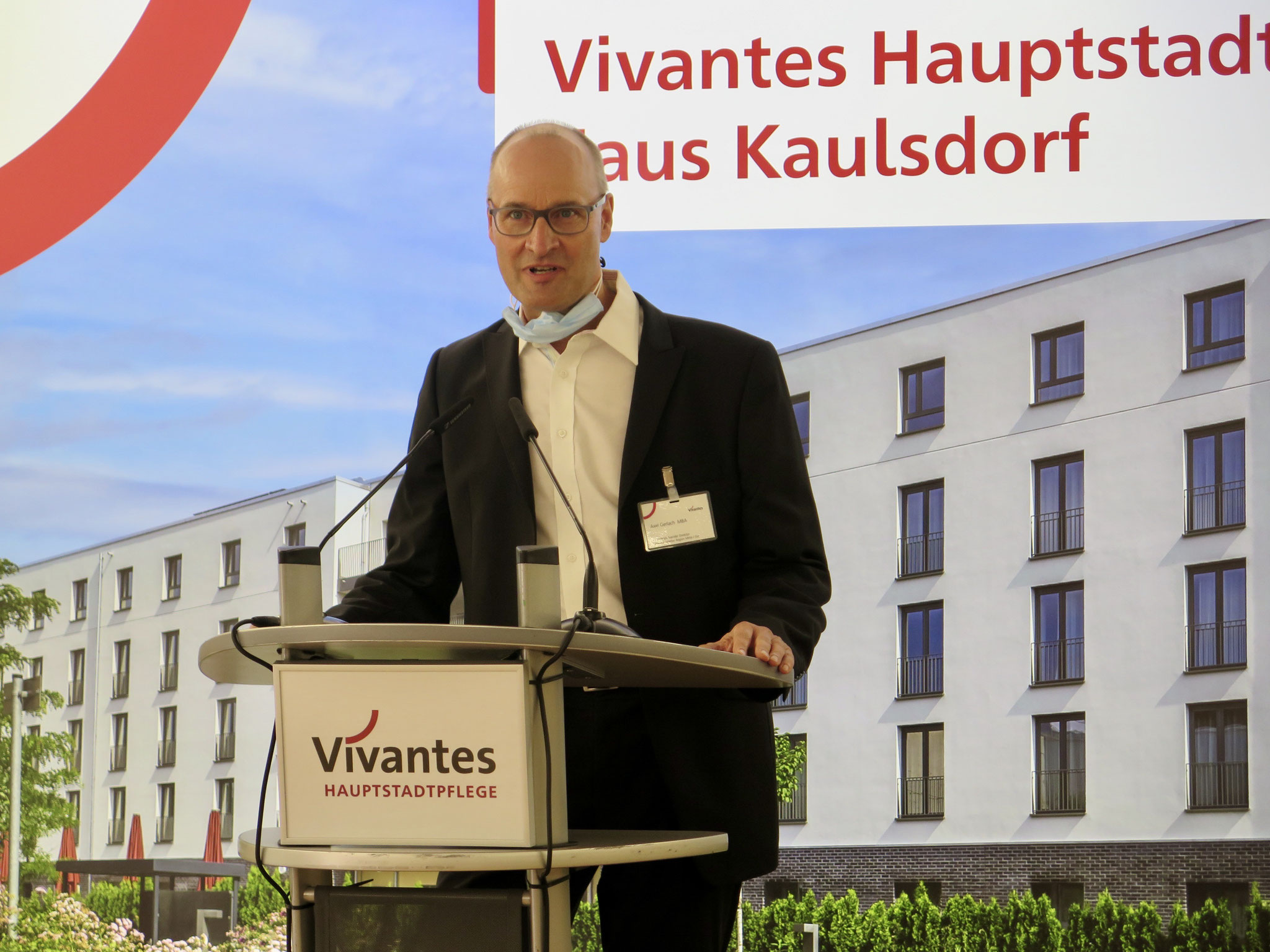 Axel Gerlach, Geschäftsführender Direktor des Vivantes Klinikums Kaulsdorf.