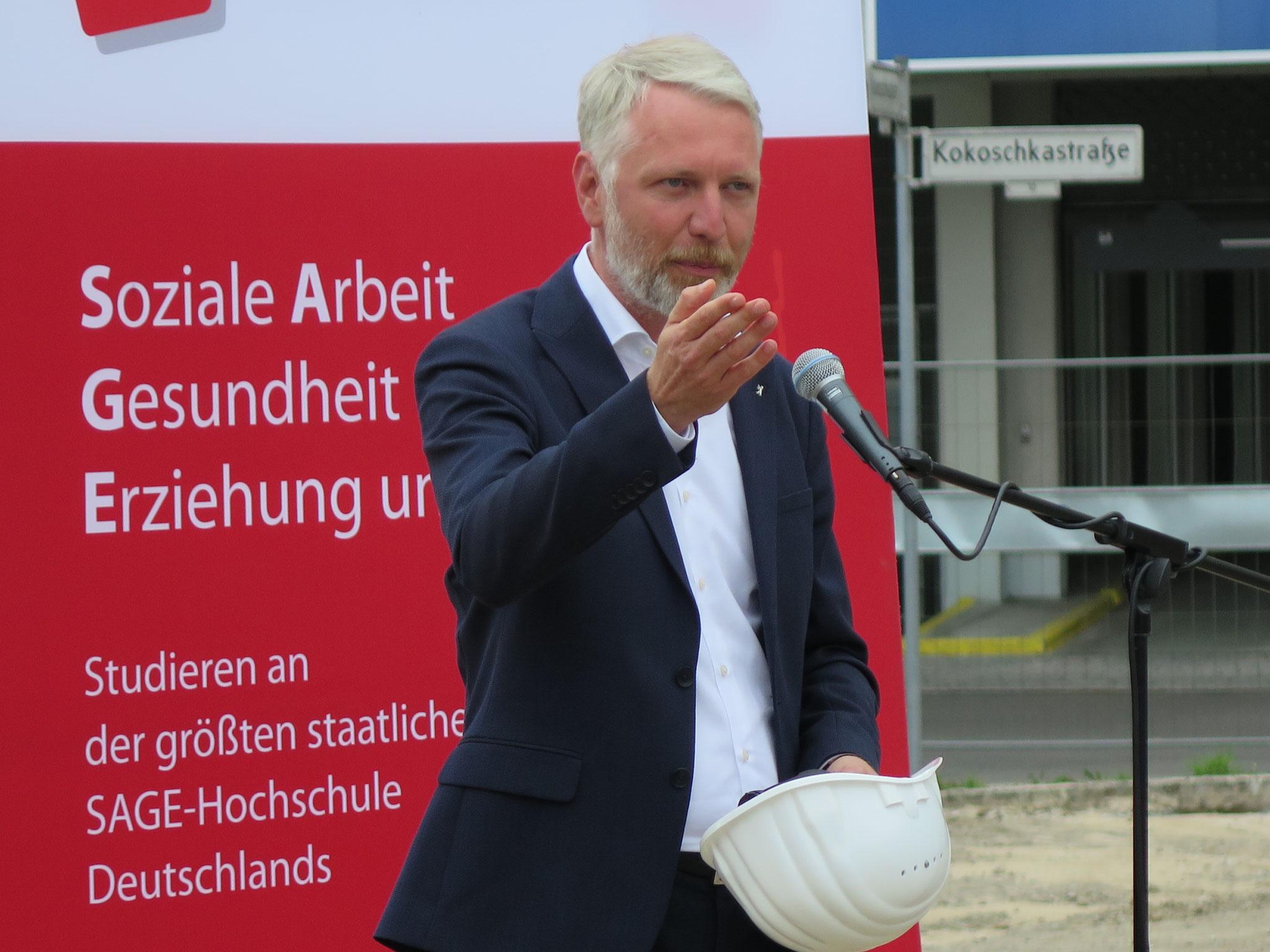 Bausenator Sebastian Scheel