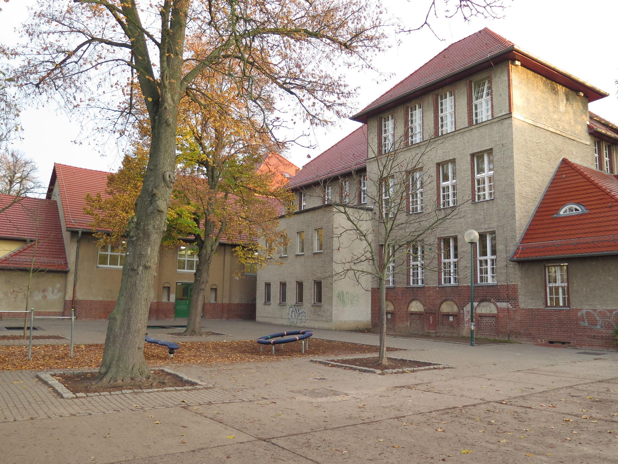 Die Franz-Carl-Achard-Grundschule soll trotz Sanierung nichts von ihrem Charme einbüßen.