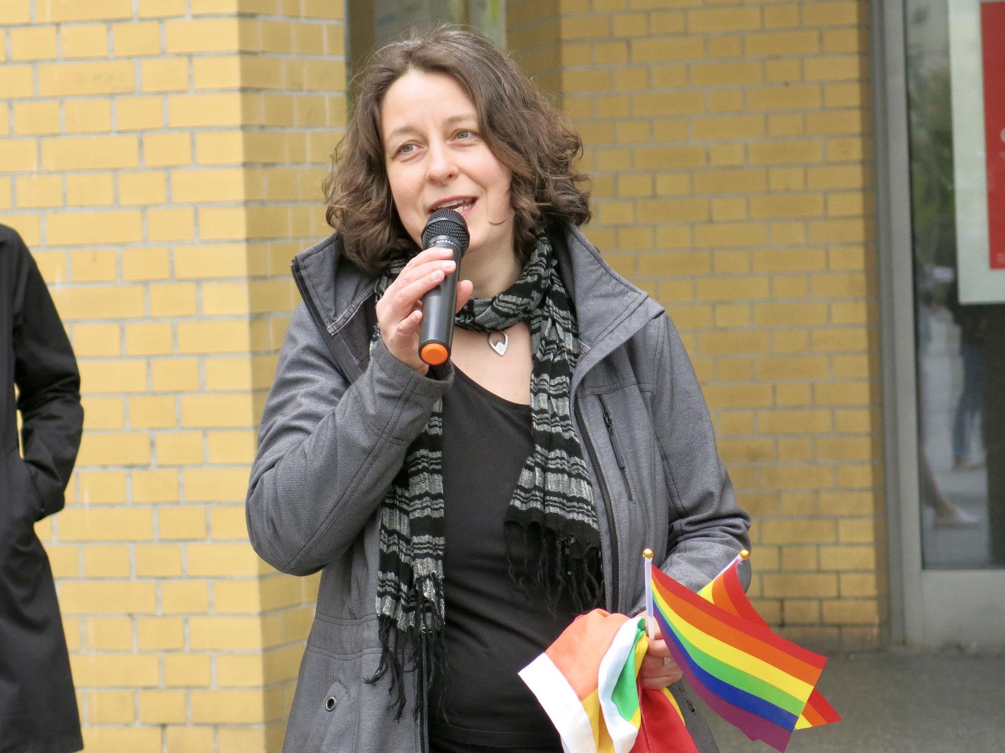 Constanze Körner, Vorständin des Vereins LesLeFam