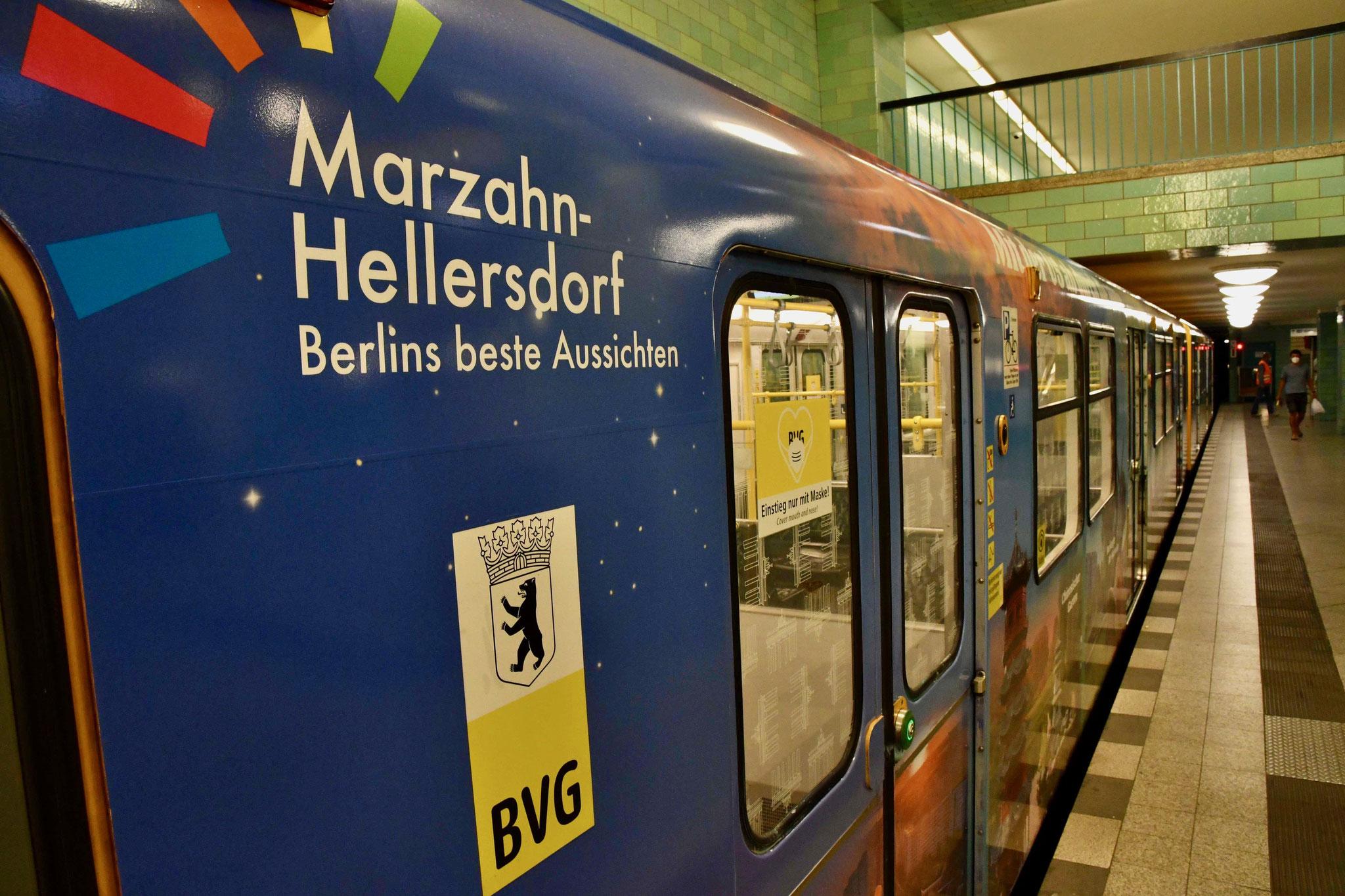 Die Botschaft ist: Marzahn-Hellersdorf kann sich echt sehen lassen. Ein Besuch lohnt sich immer. © pressefoto-uhlemann.de
