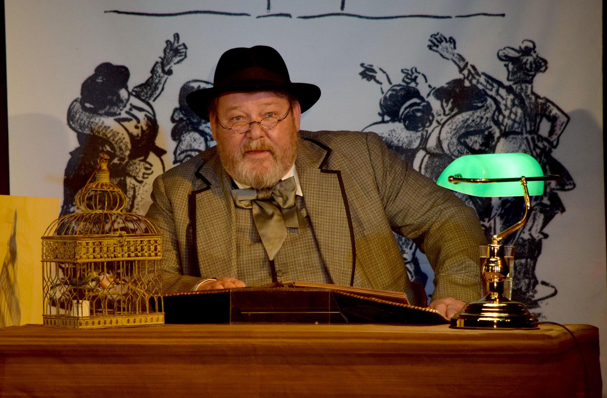 """Tipp 13: Sa, 14.9., 19 Uhr: """"Hurengespräche"""". Walter Plathe liest aus dem 100 Jahre alten Skandalbuch von Heinrich Zille. Freizeitforum Marzahn"""