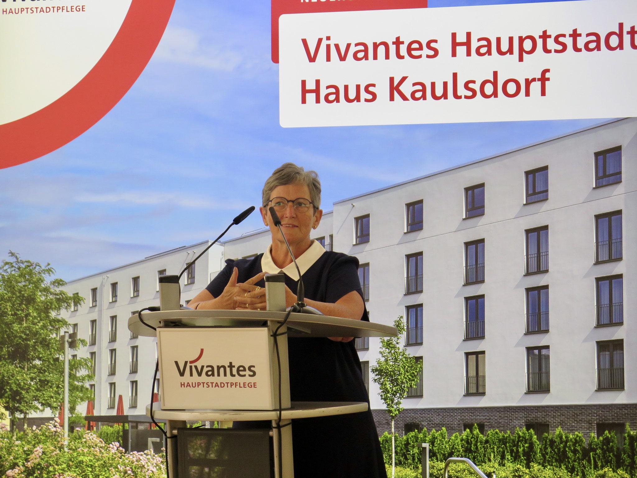 Marzahn-Hellersdorfs Gesundheitsstadträtin und Bezirksbürgermeisterin Dagmar Pohle.