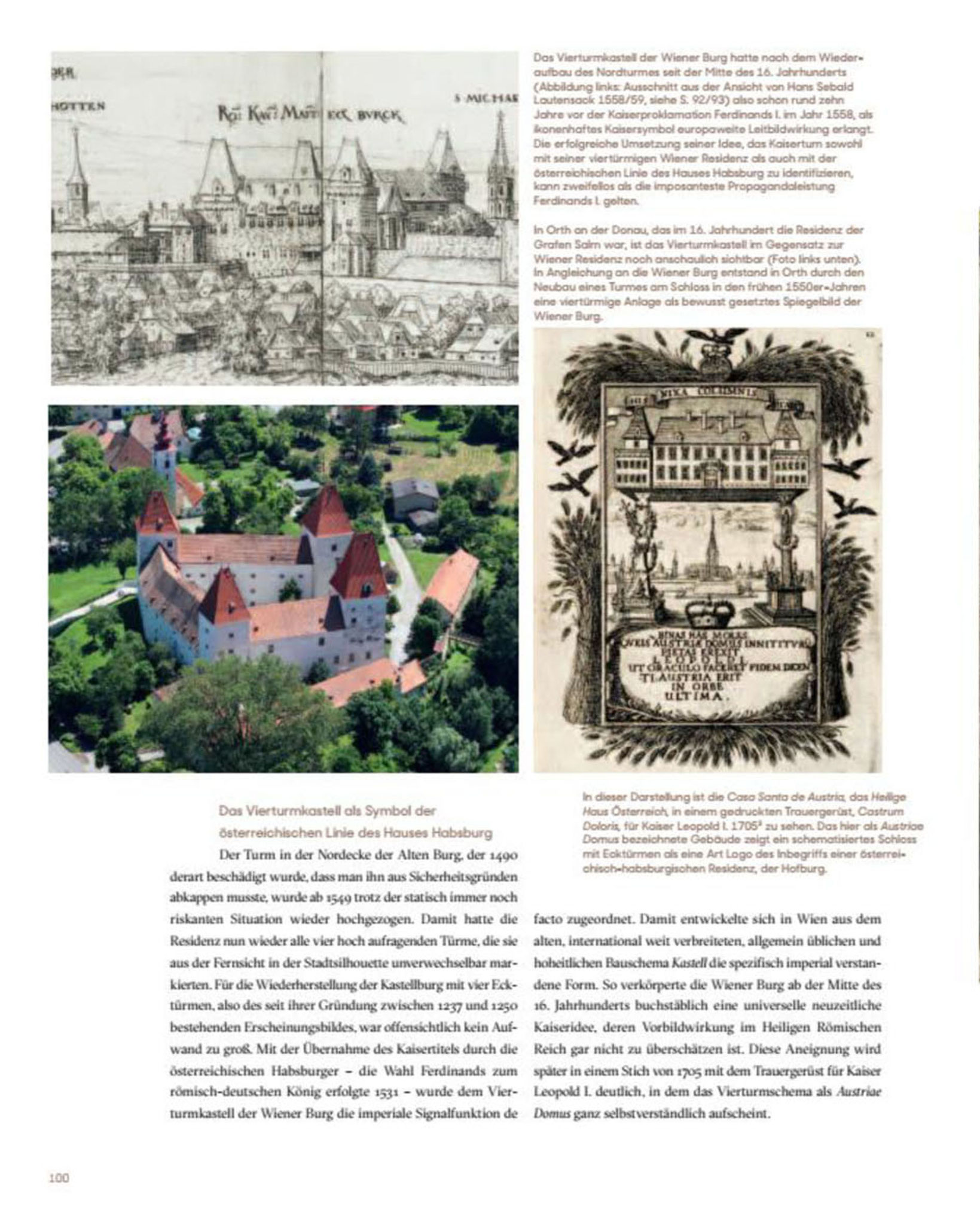 Schloss Orth a.d. Donau / Luftbild © Stefanie Grüssl / BHÖ