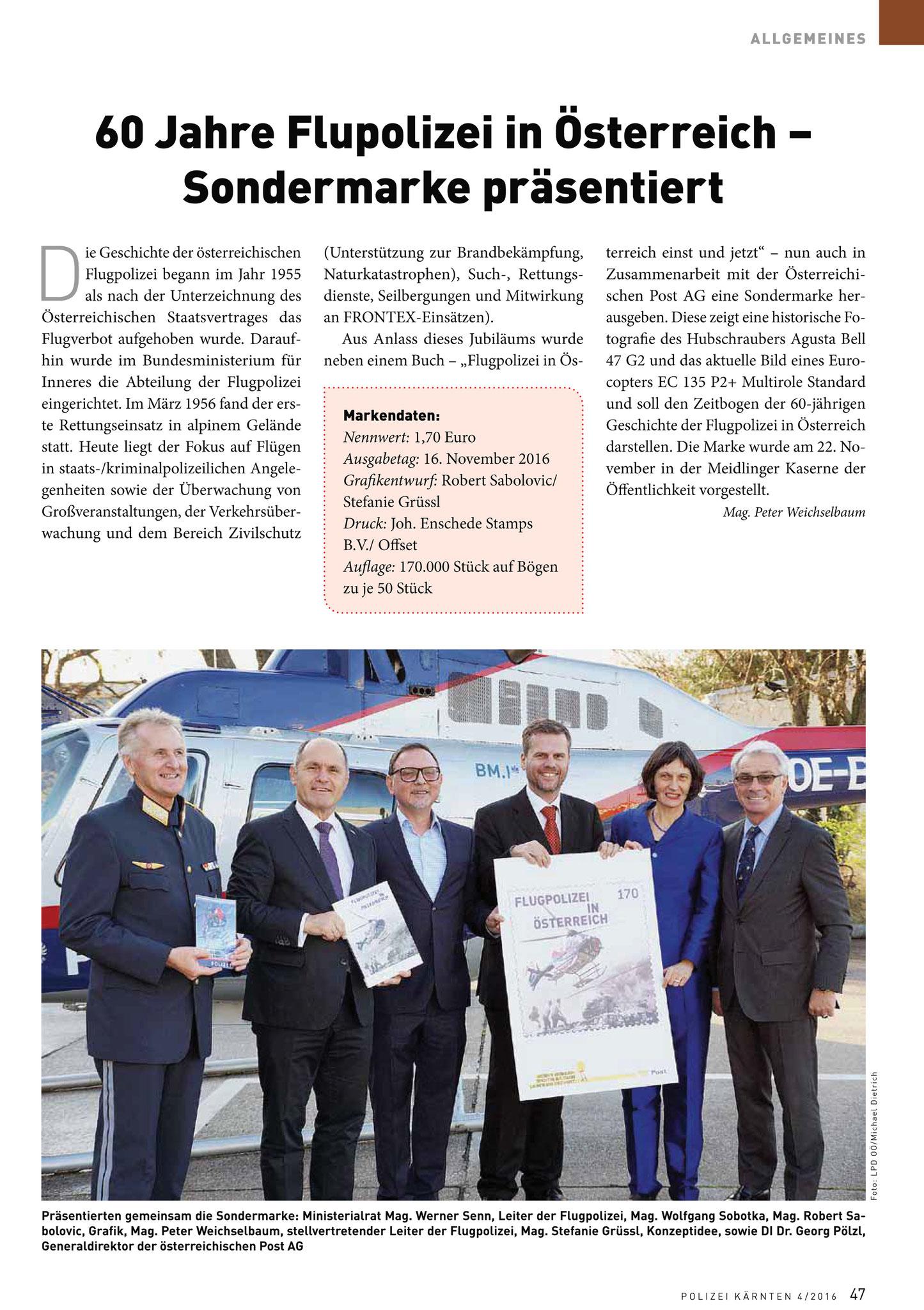Polizei Kärnten - Das Info-Magazin der LPD 4/2016