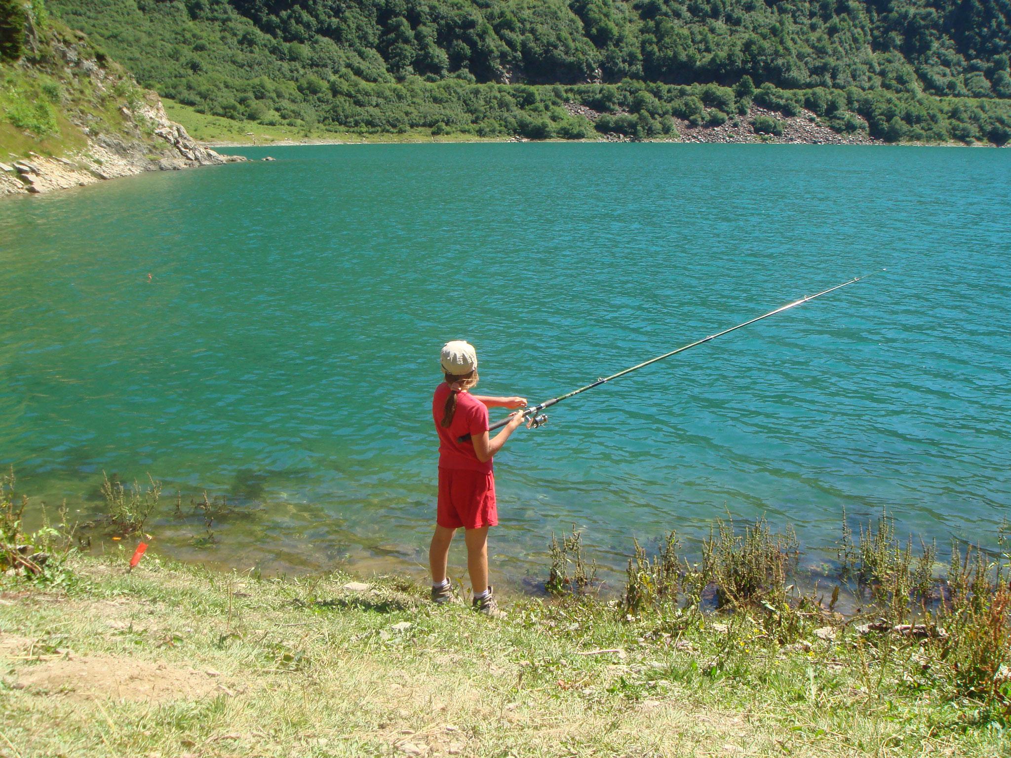 Pêche au lac