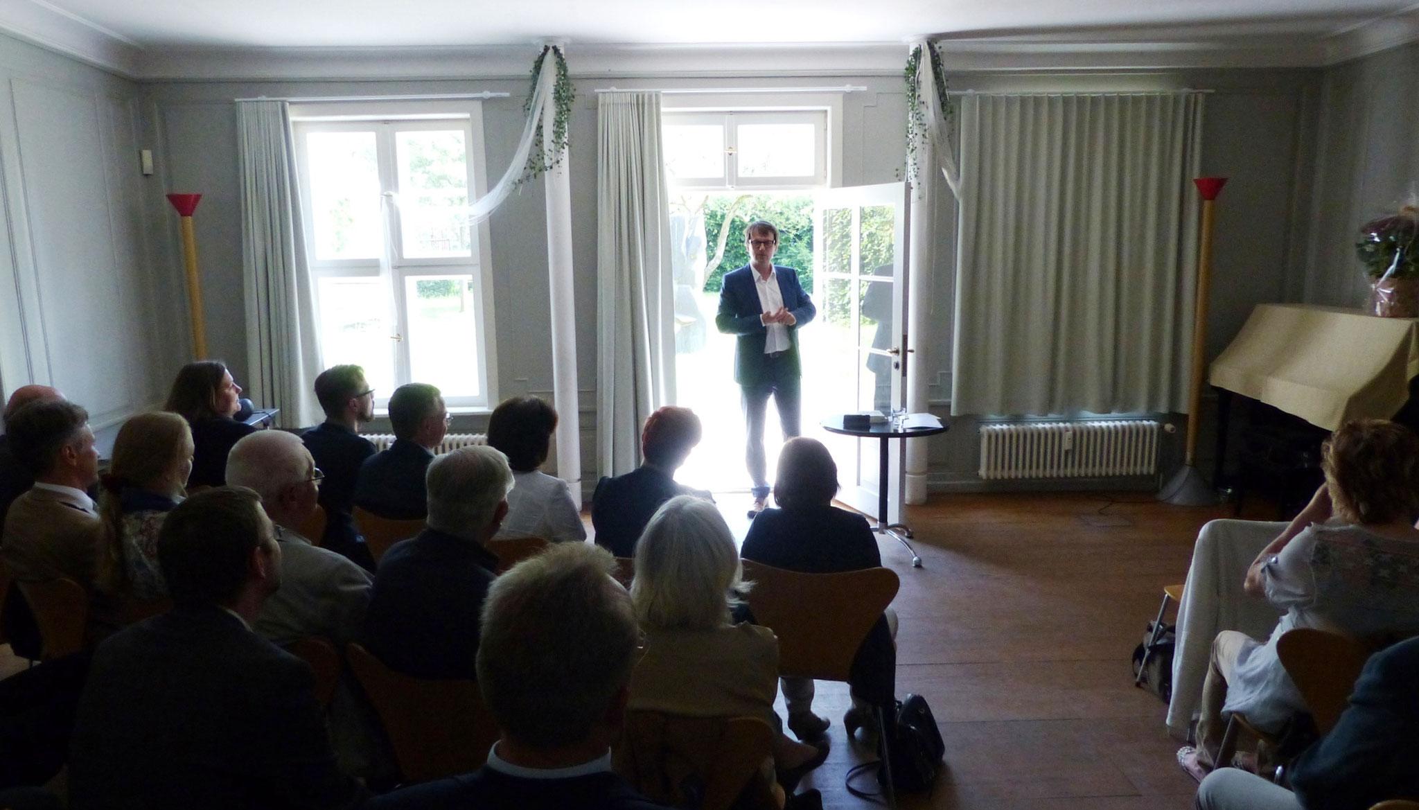 Jubiläumsveranstaltung im Gartensaal des Schleswig-Holstein-Hauses