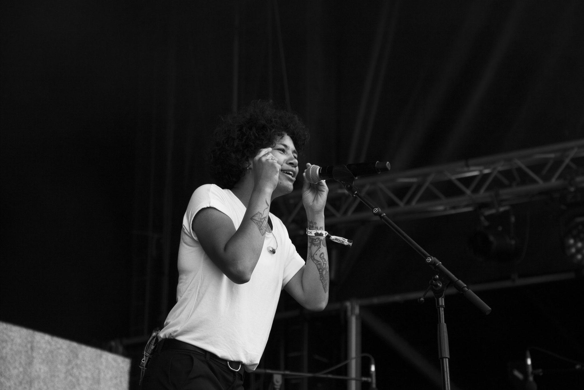 JOY.D - Festival Au Pont du Rock 2021. ©Clémence Rougetet