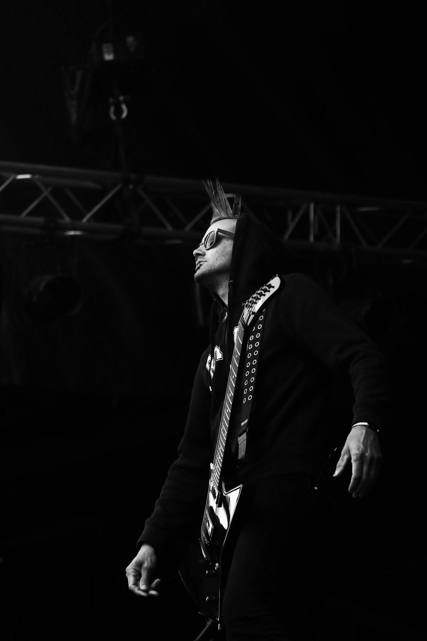 Ultra Vomit - Festival Au Pont du Rock 2021. ©Clémence Rougetet