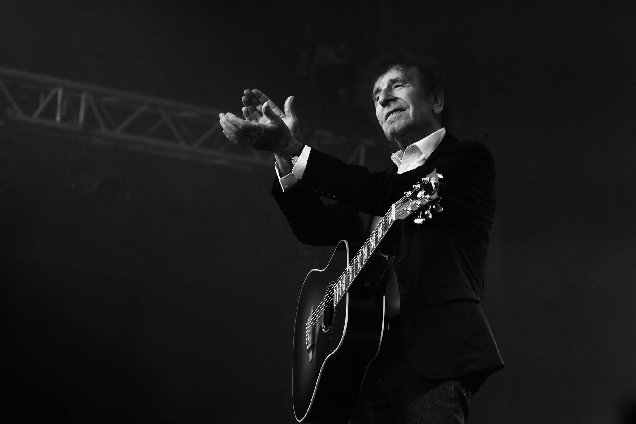 Alain Souchon - Festival Au Pont du Rock 2021. ©Clémence Rougetet