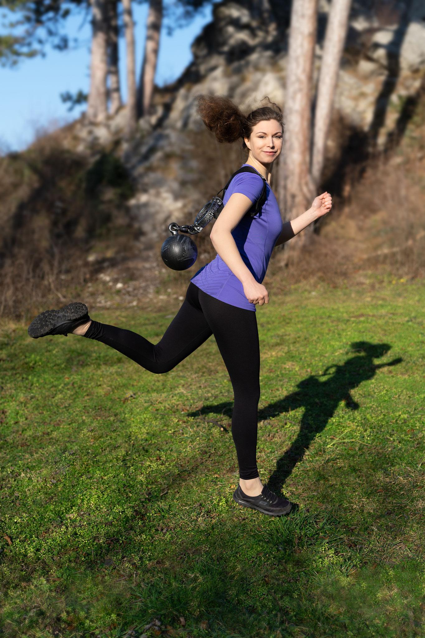 LATISSIMA - Gerade bei der Jogging-Runde…