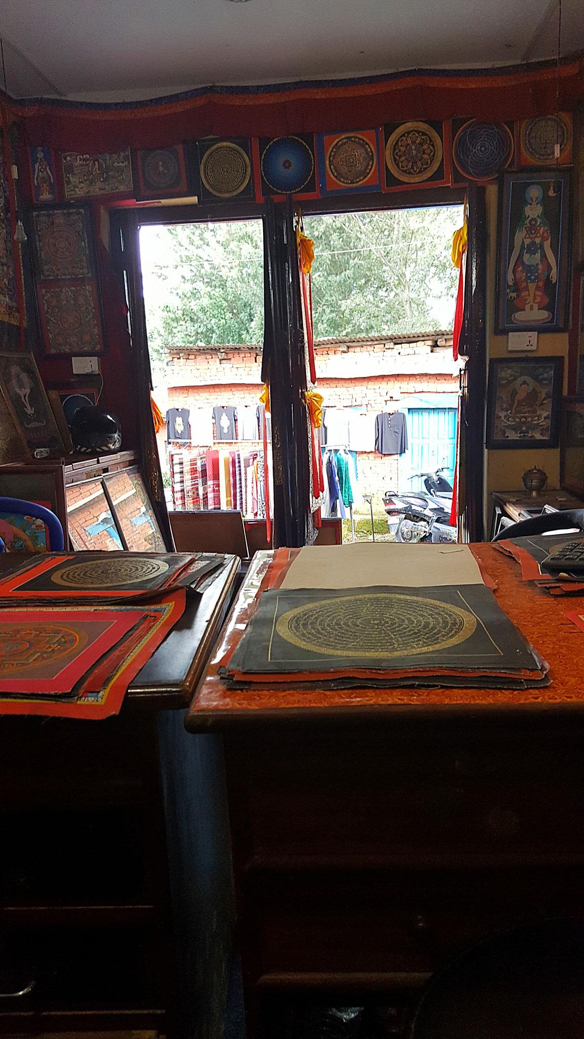 Meine grandiose Arbeit im Mandalashop