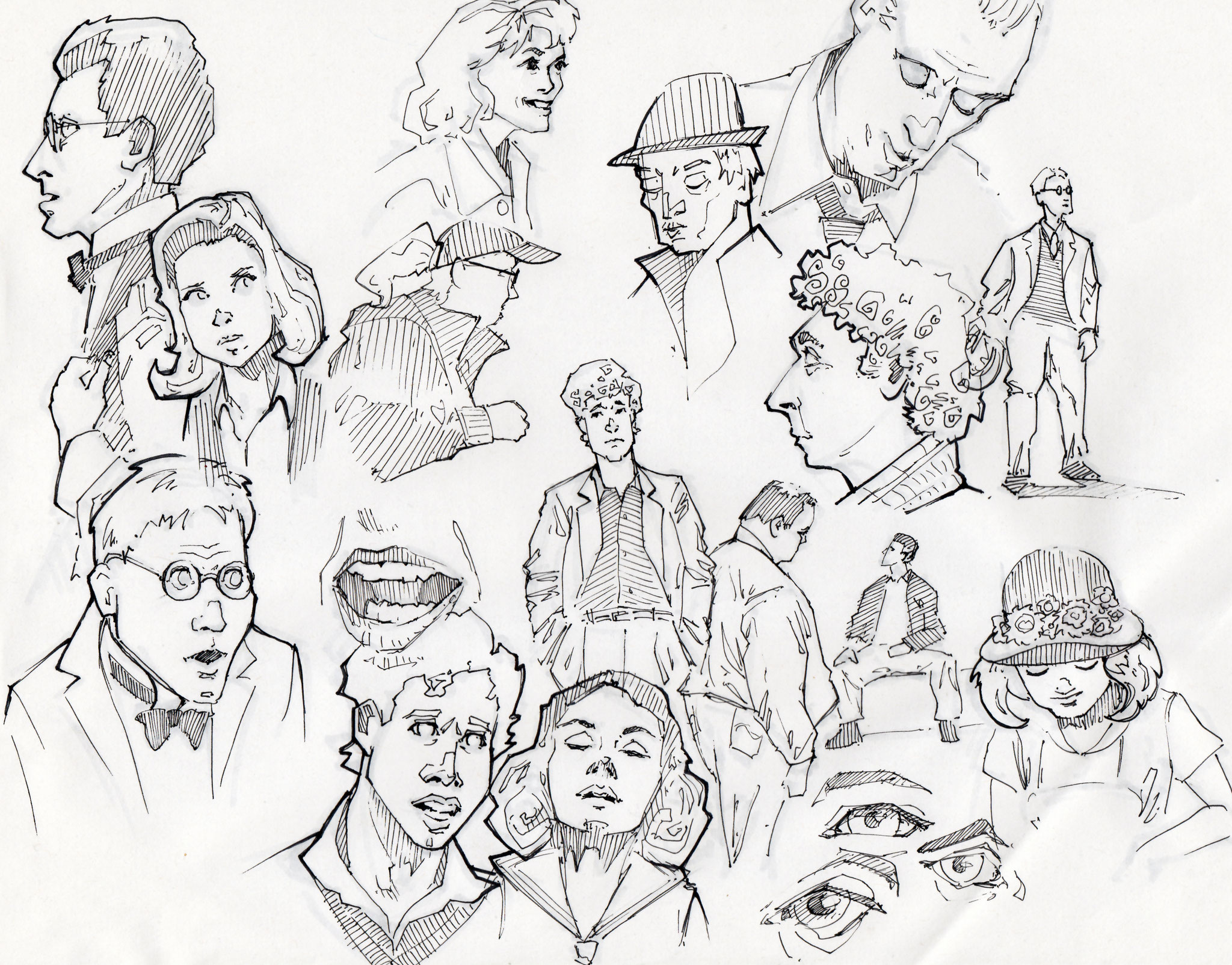 Sketchbook 09 - Peter Bartels - Illustration - Concept Art