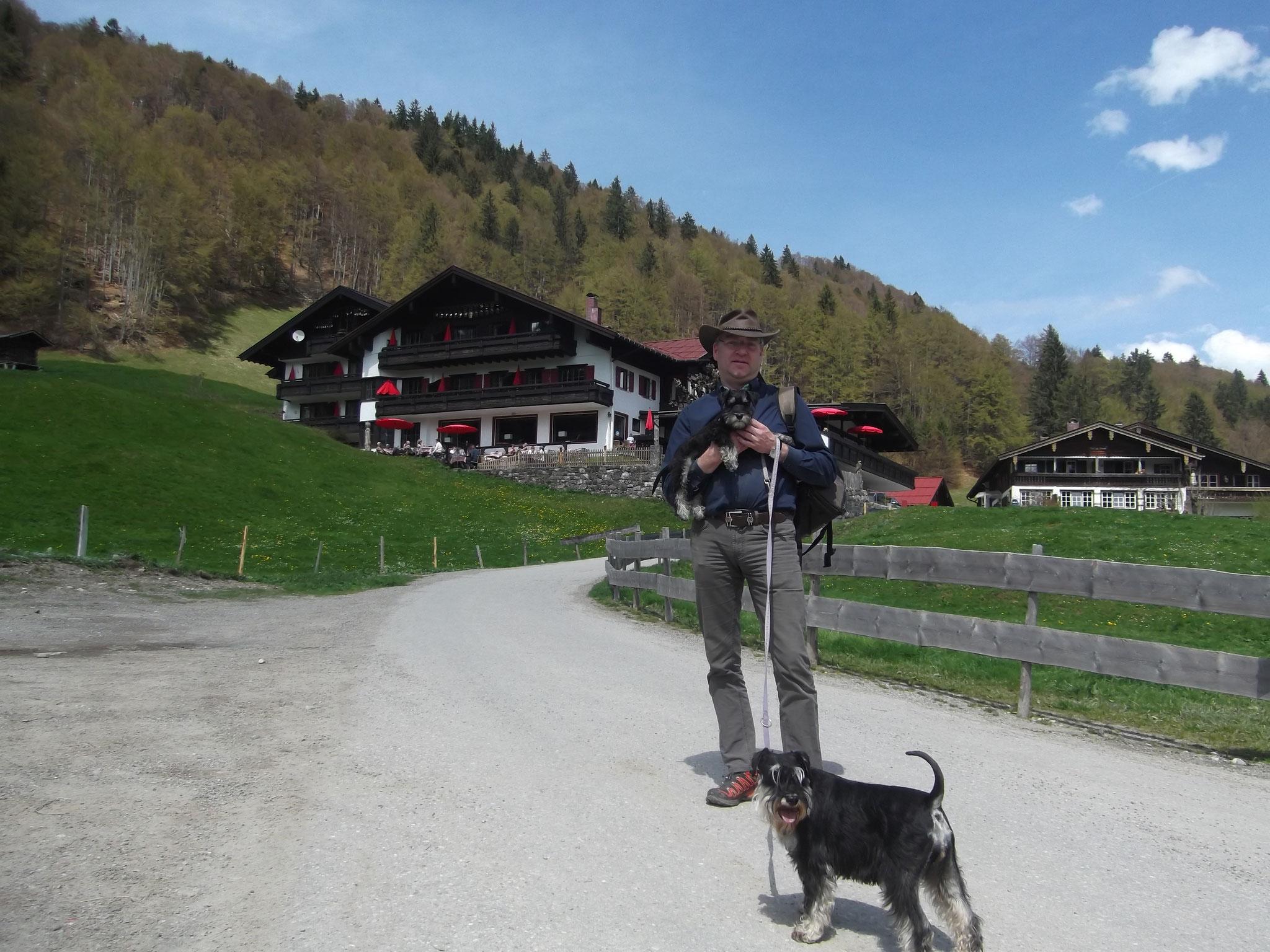 Peter, Brünni und Pia in Oberstdorf