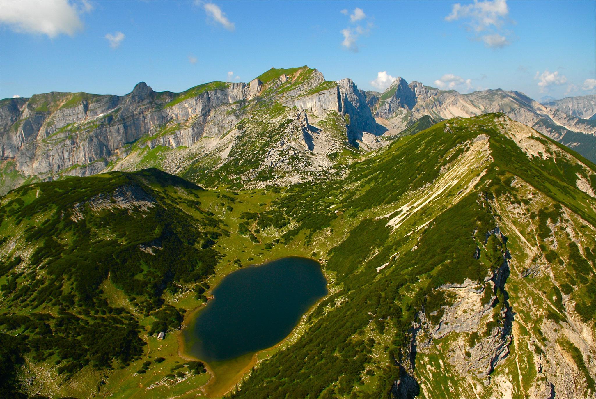 Zireiner See Panorama