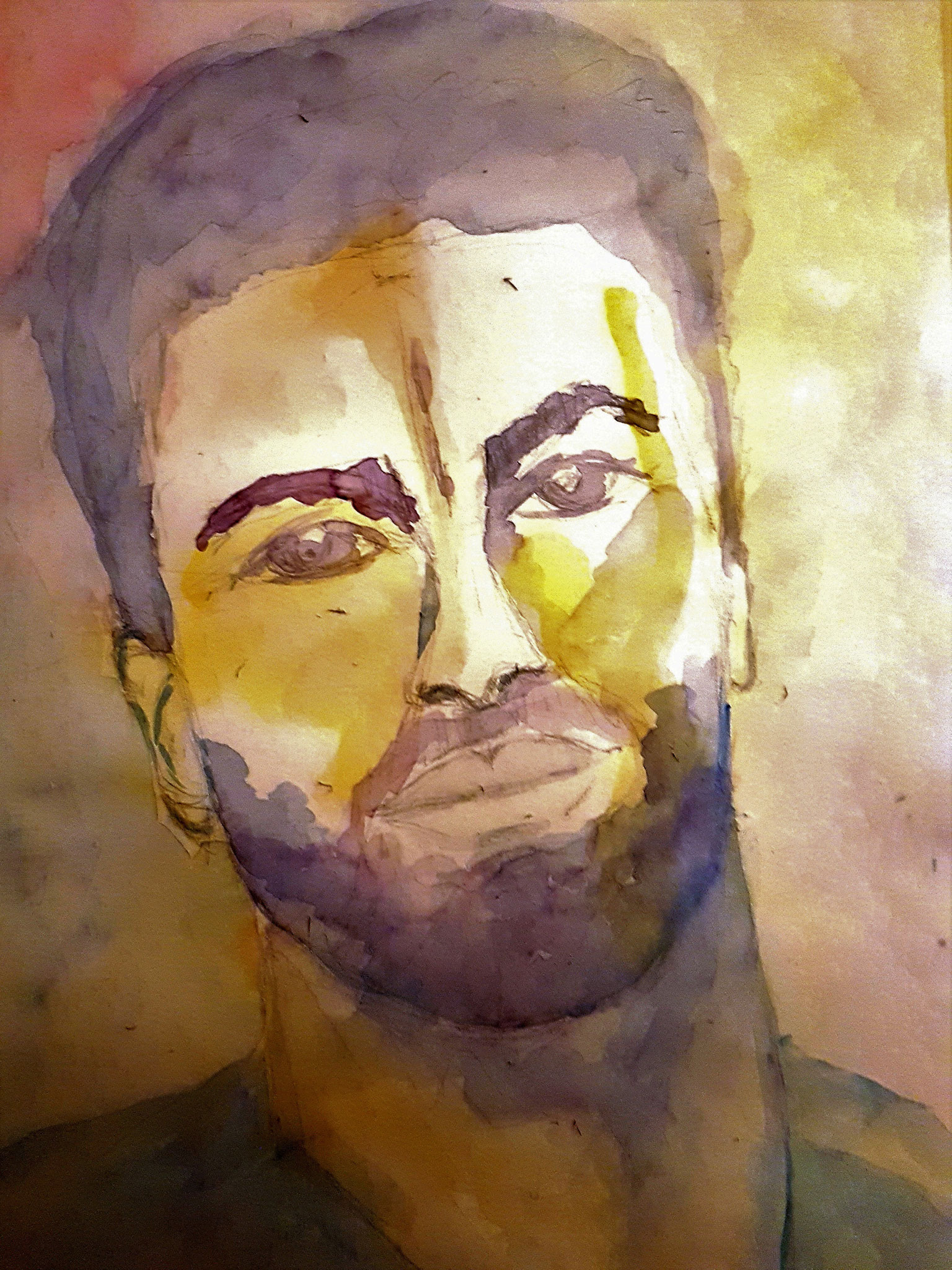 George, Aquarell, 30/40, 2017