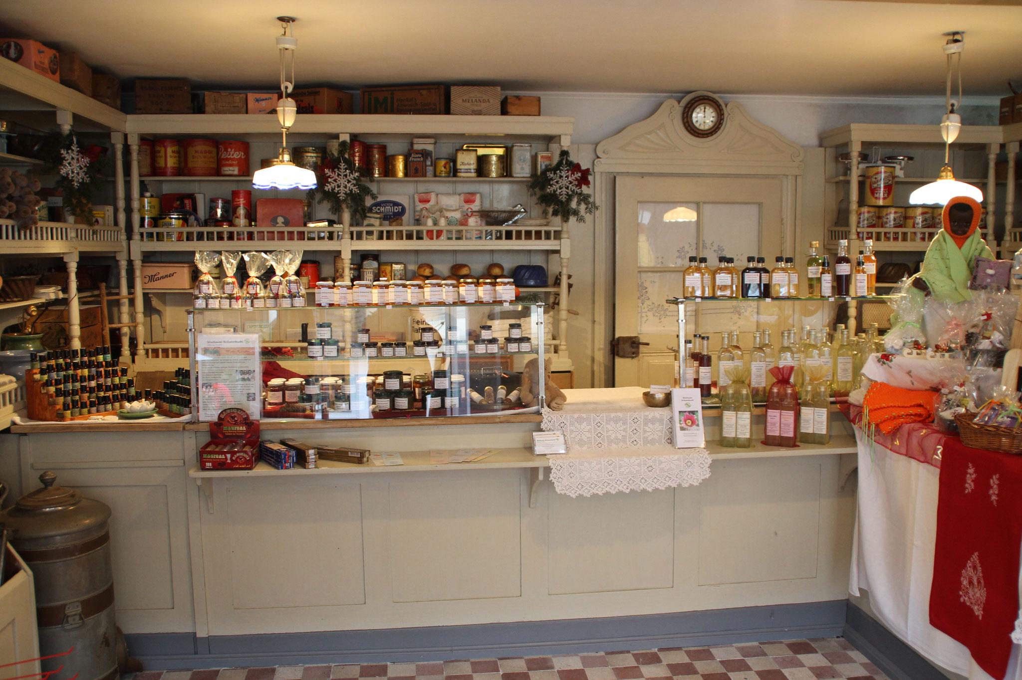 Im Bäckereimuseum in einer originalen Gemischtwarenhandlung