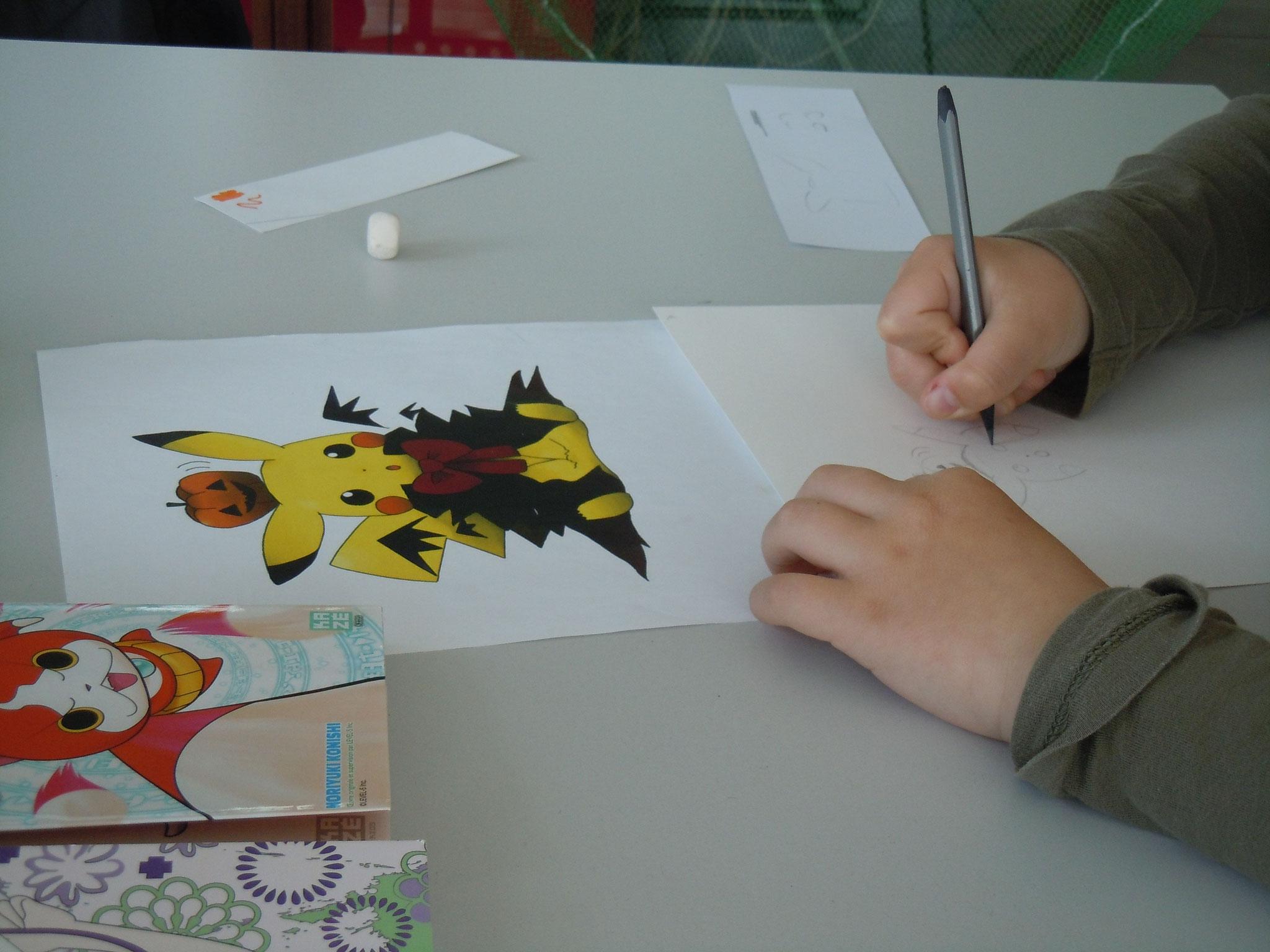 """""""S'il te plaît, dessine-moi un manga"""" © C. Le Bonhomme"""