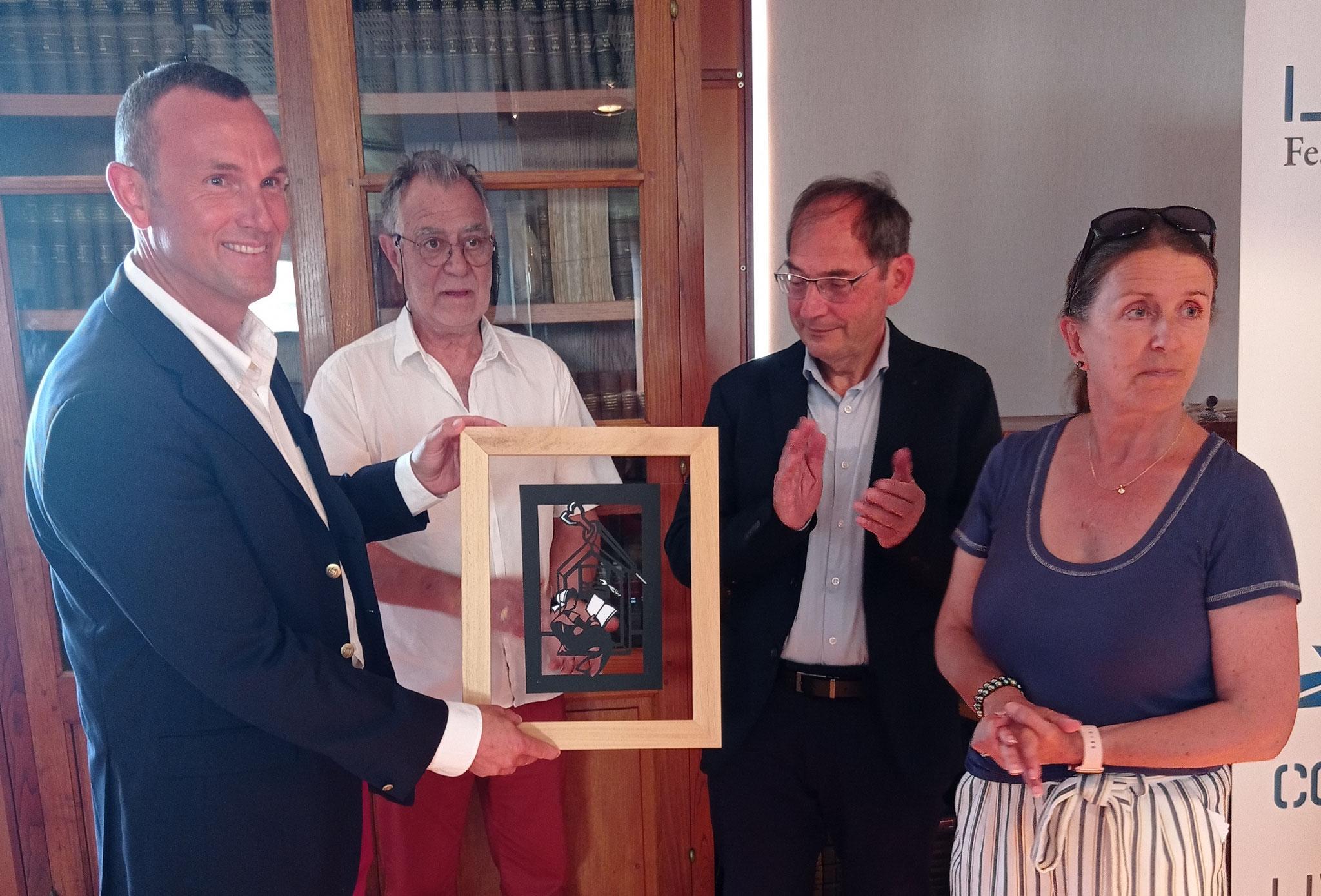 Ewan Lebourdais, Jacques Campion, Alain Echivard & Annick Martin