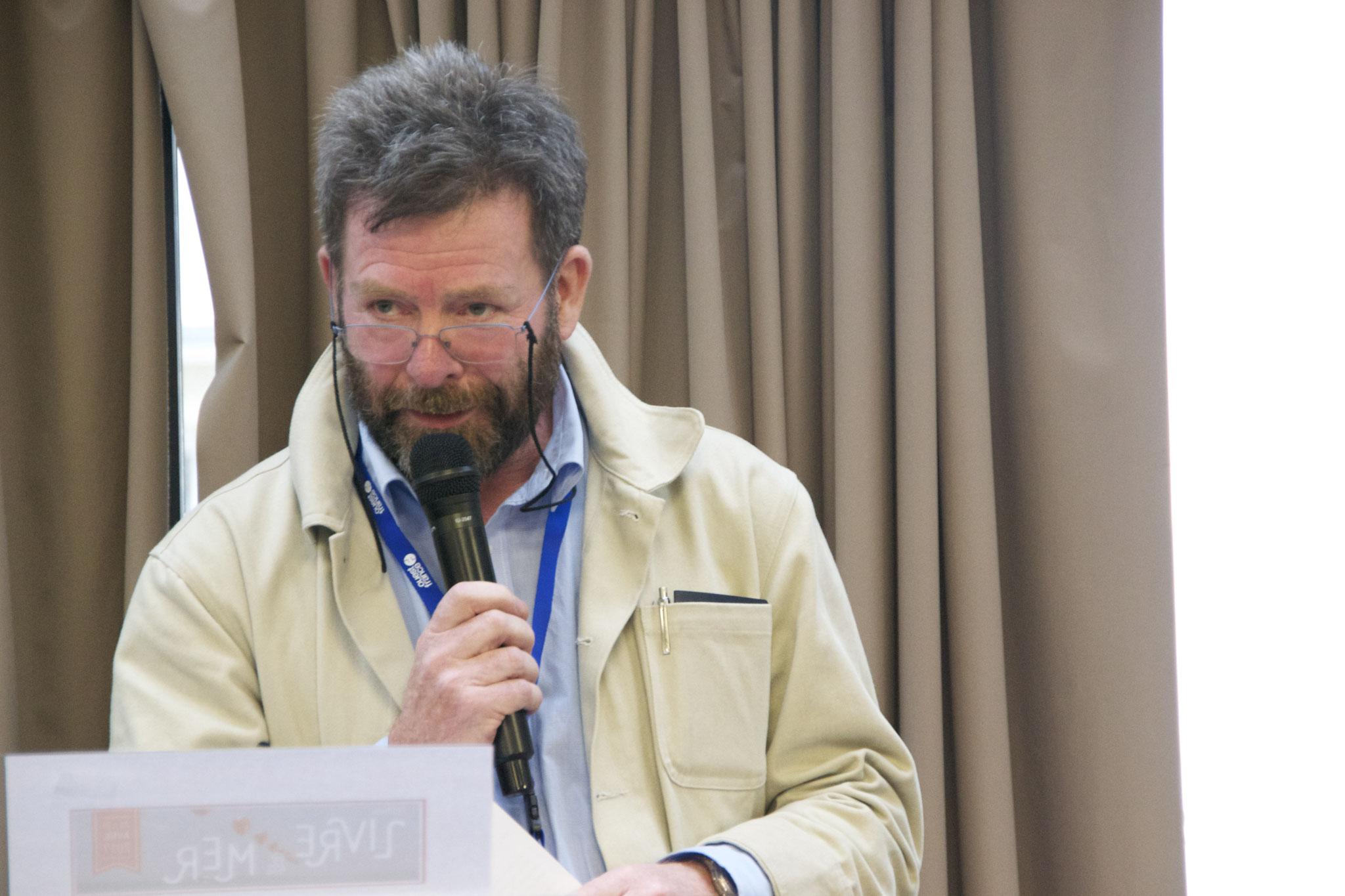 Dominique Le Brun Président d'honneur du Festival © P. Morin