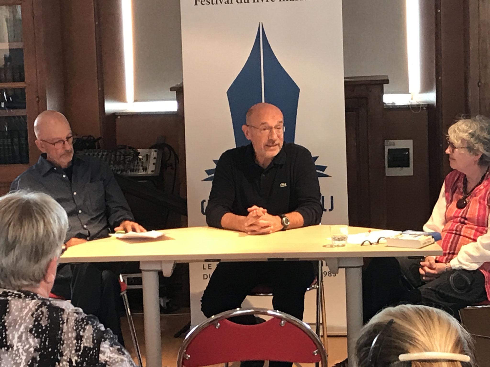 Gilbert Le Bras, Michel Moutot & Dominique Dieterlé
