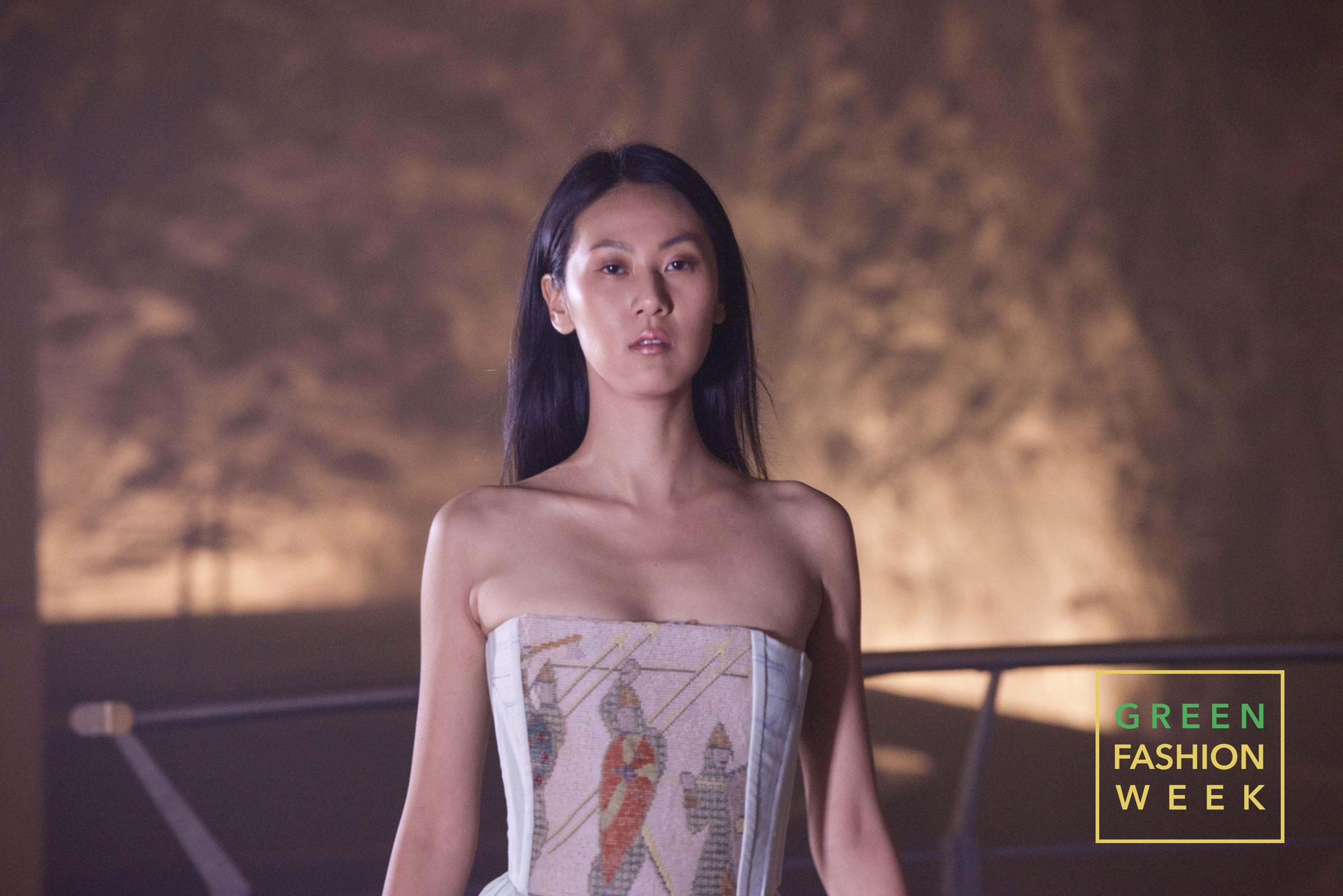 Model Jia Qin Xiao x Prophetik. Photo Credit: Jurg Hunziker | www.yakay.com