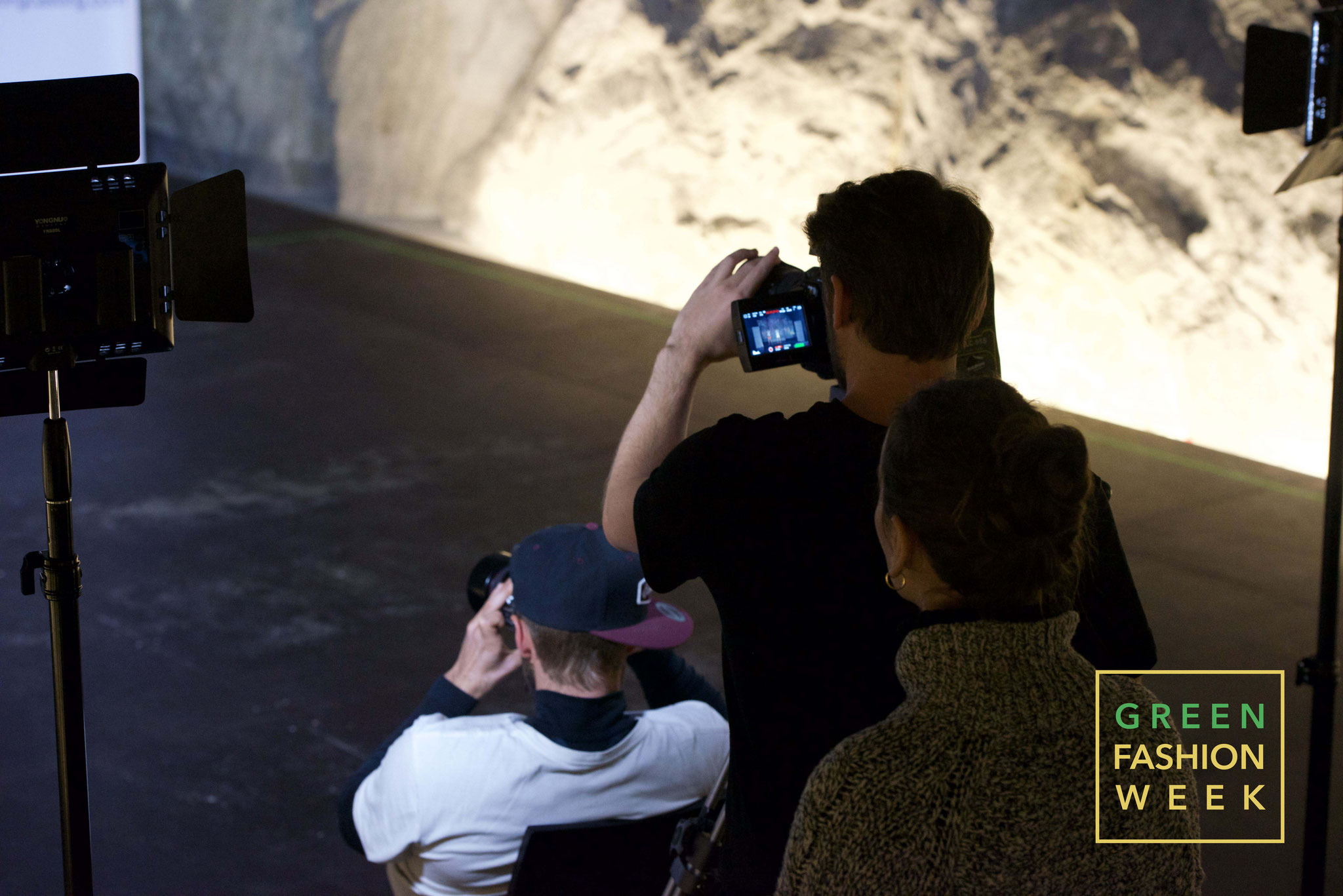 Set designer Francesco dell'Oro and photographer Stefano Dioli at work. Photo Credit: Jurg Hunziker | www.yakay.com
