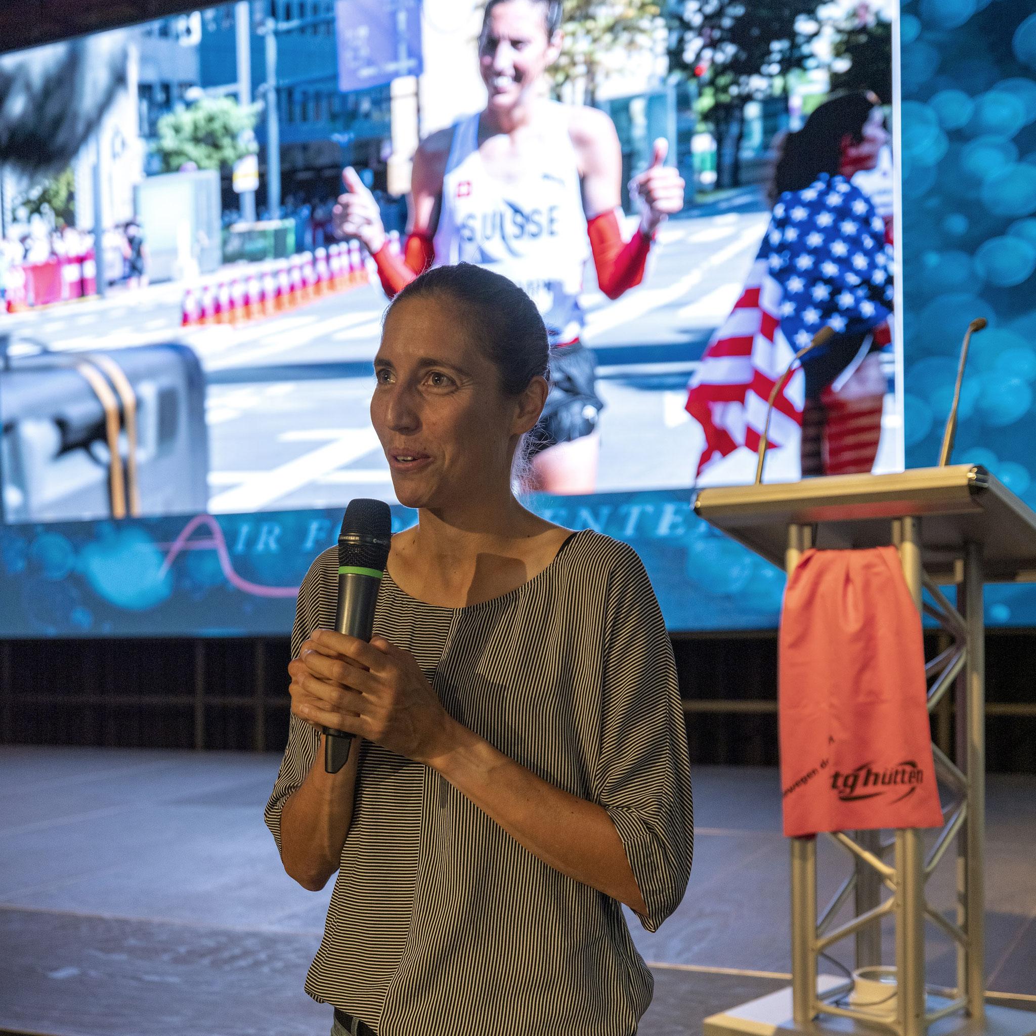 Fabienne erzählt von der Olympiade