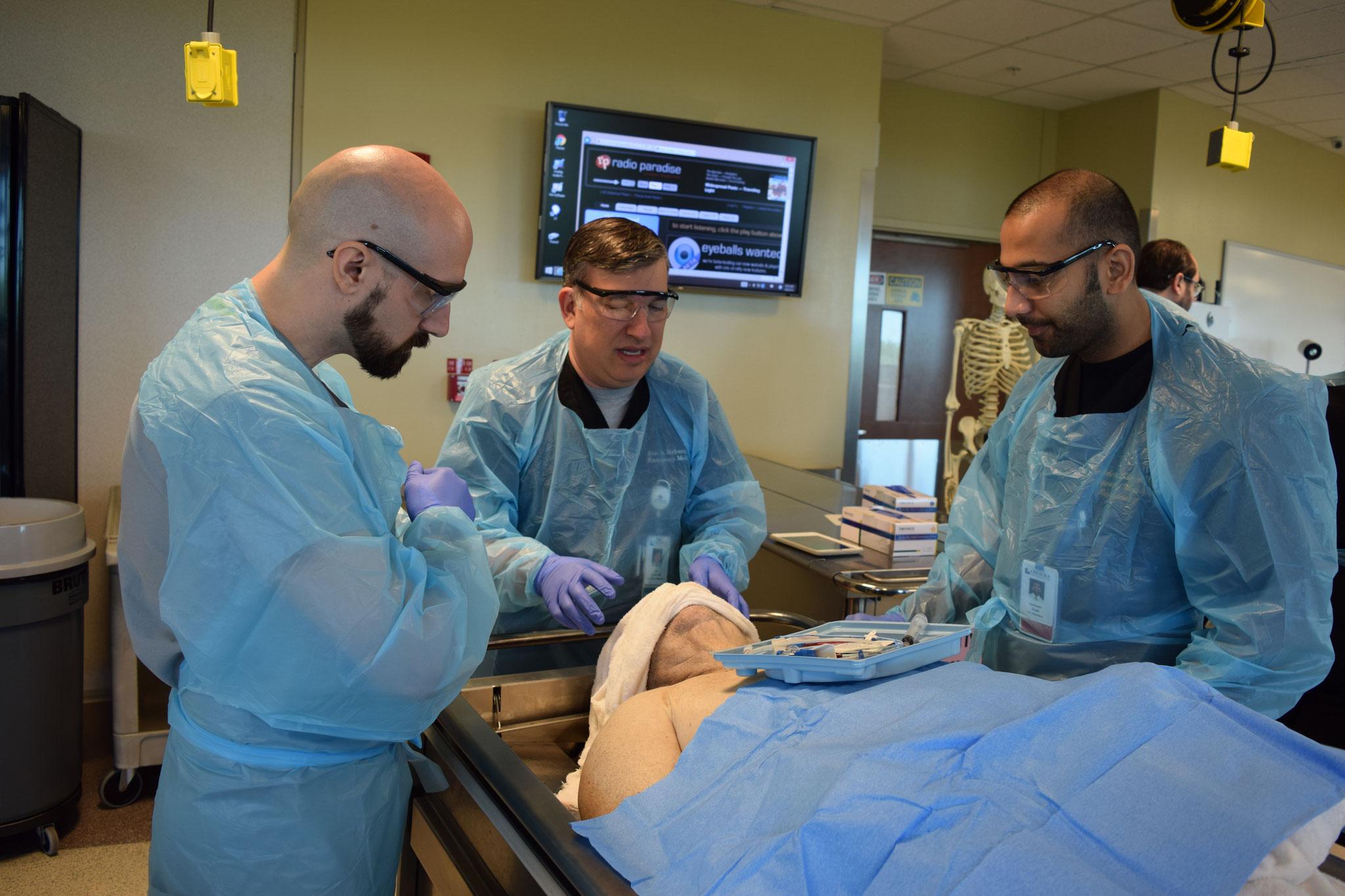 Cadaver Procedure lab